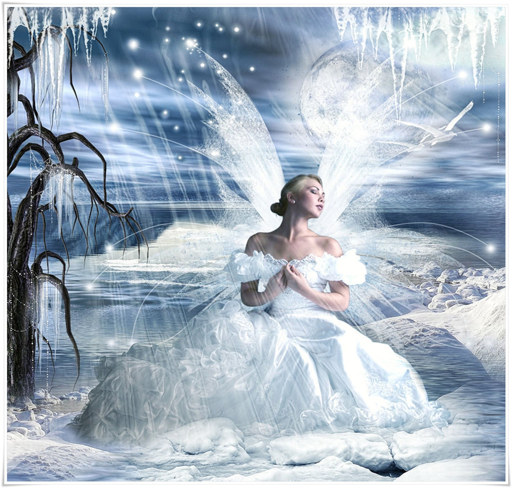 FAIRY SNOW QUEEN | FANTASY | Pinterest