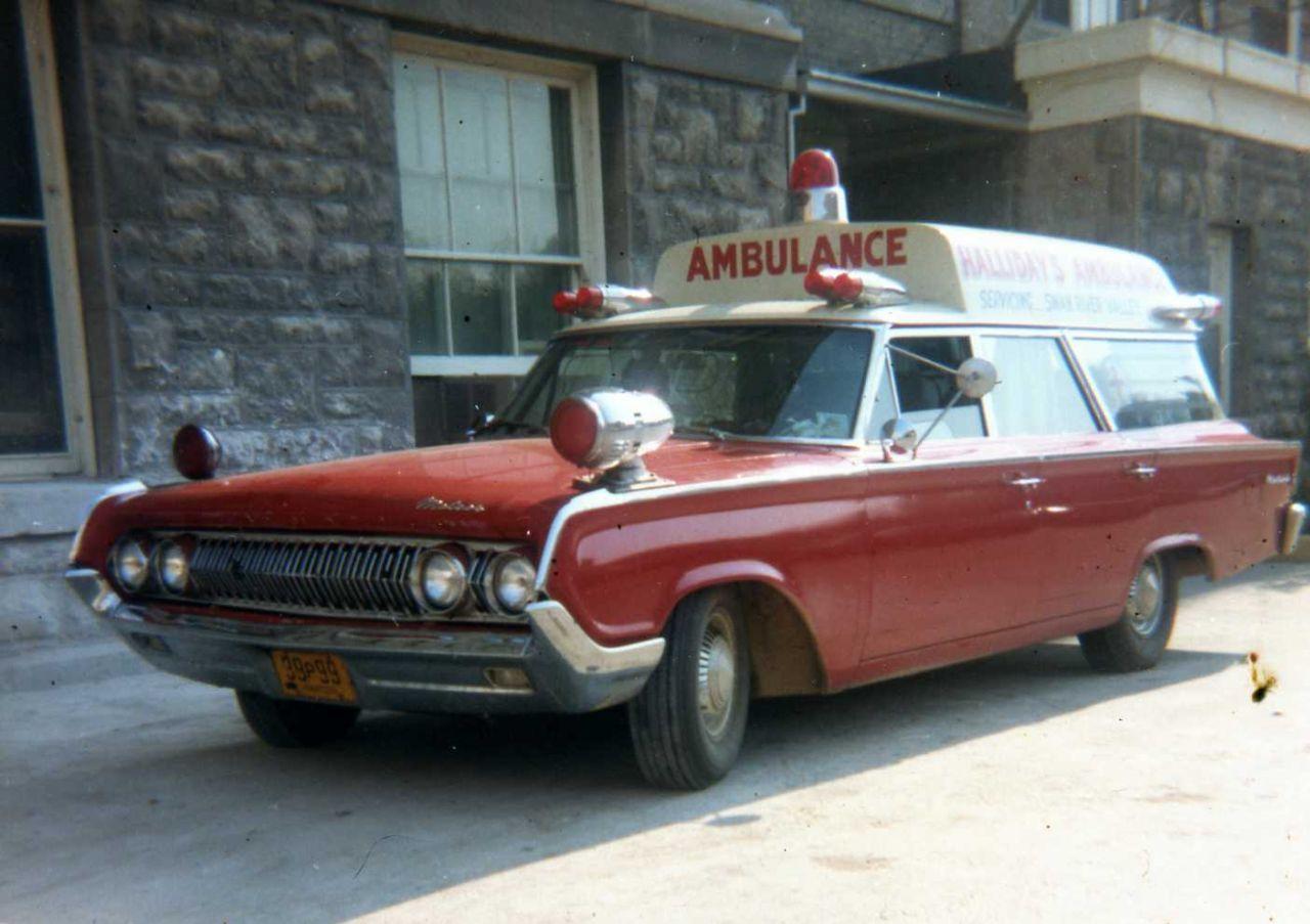 64 Ford Meteor Ambulance Vintage Ambulances Firetrucks