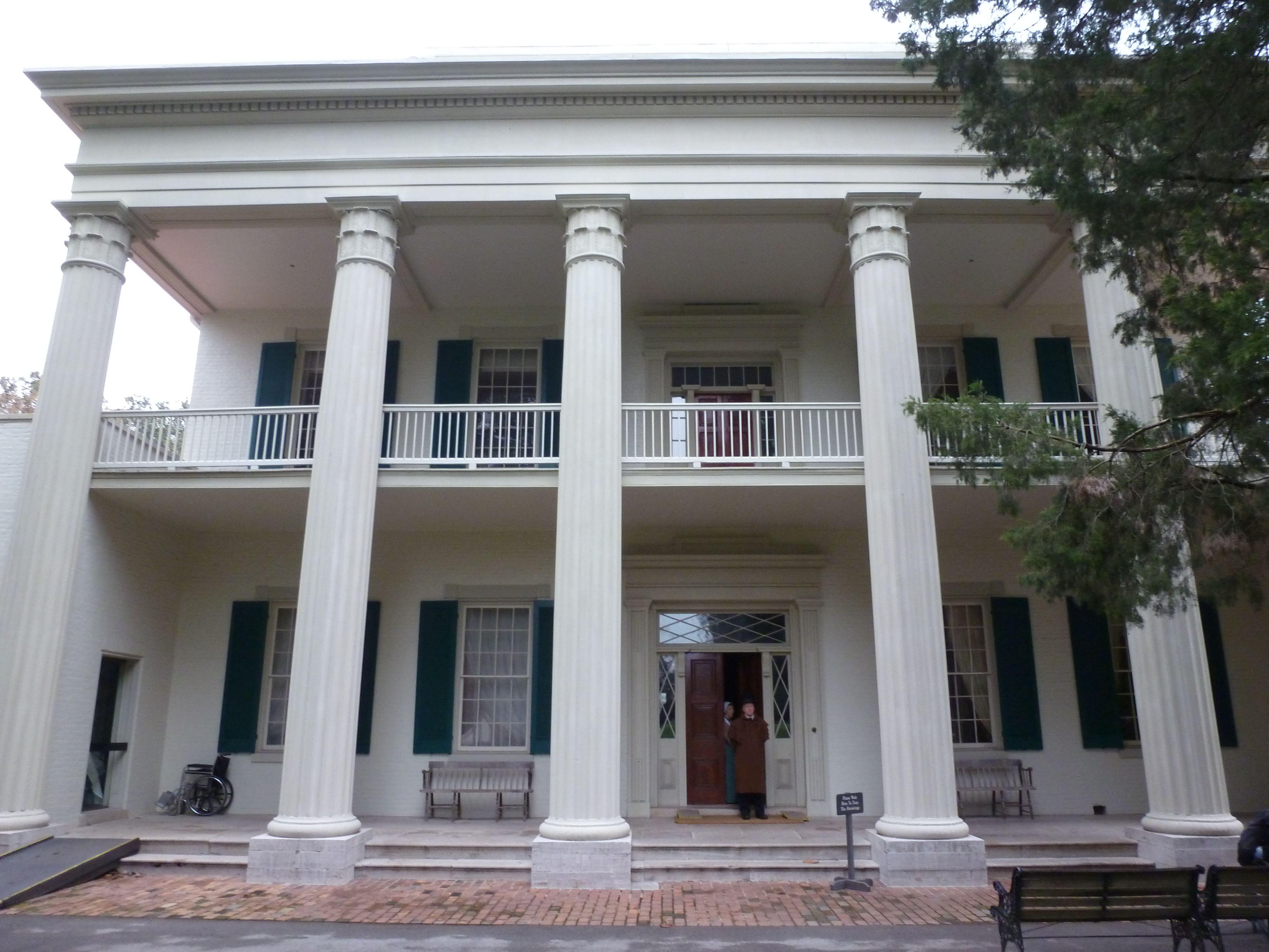 Andrew jackson 39 s home the hermitage jackson andrew for Hermitage house