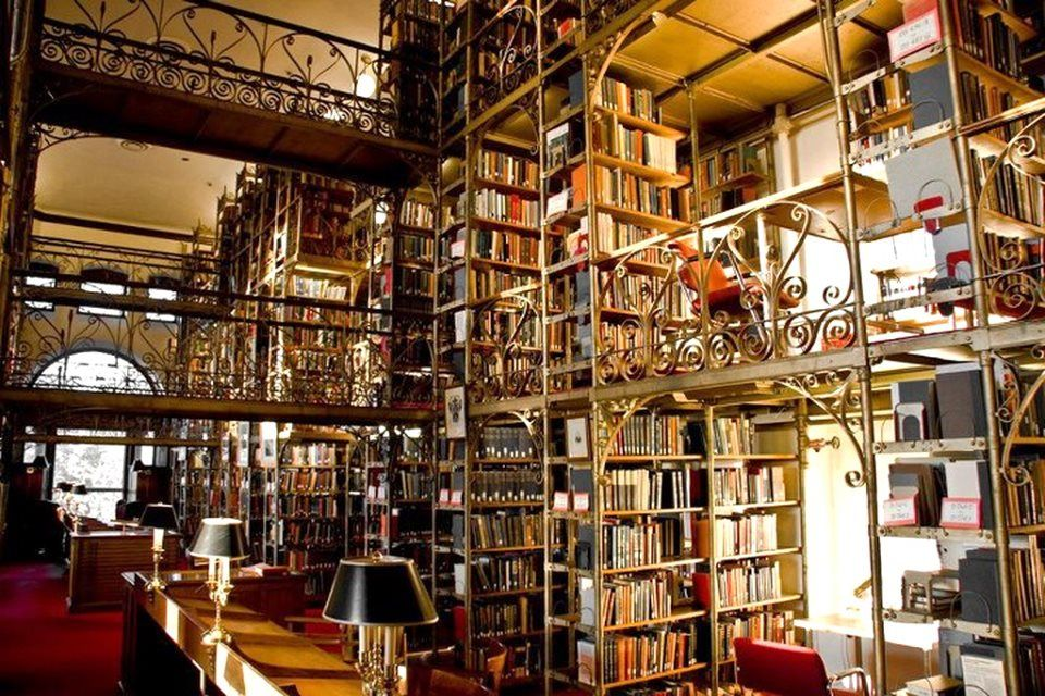 Image result for Uris Library, Cornell University (Ithaca)