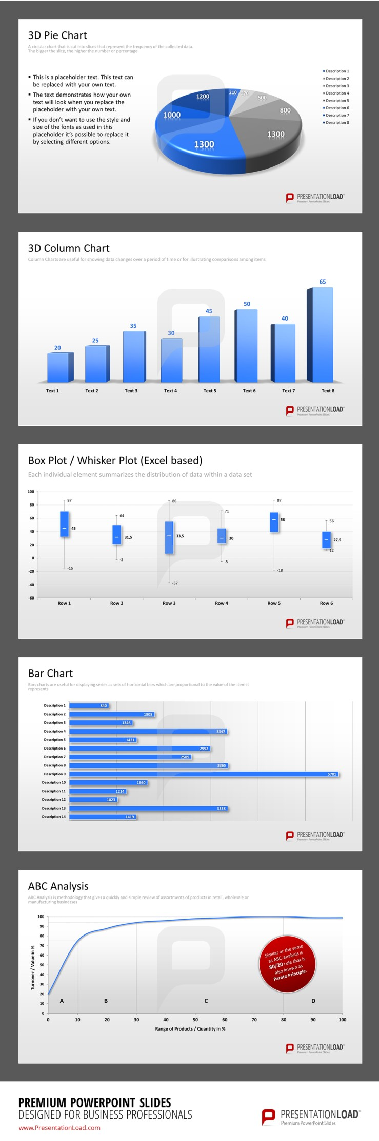 Infographic powerpoint charts 2007 silverado