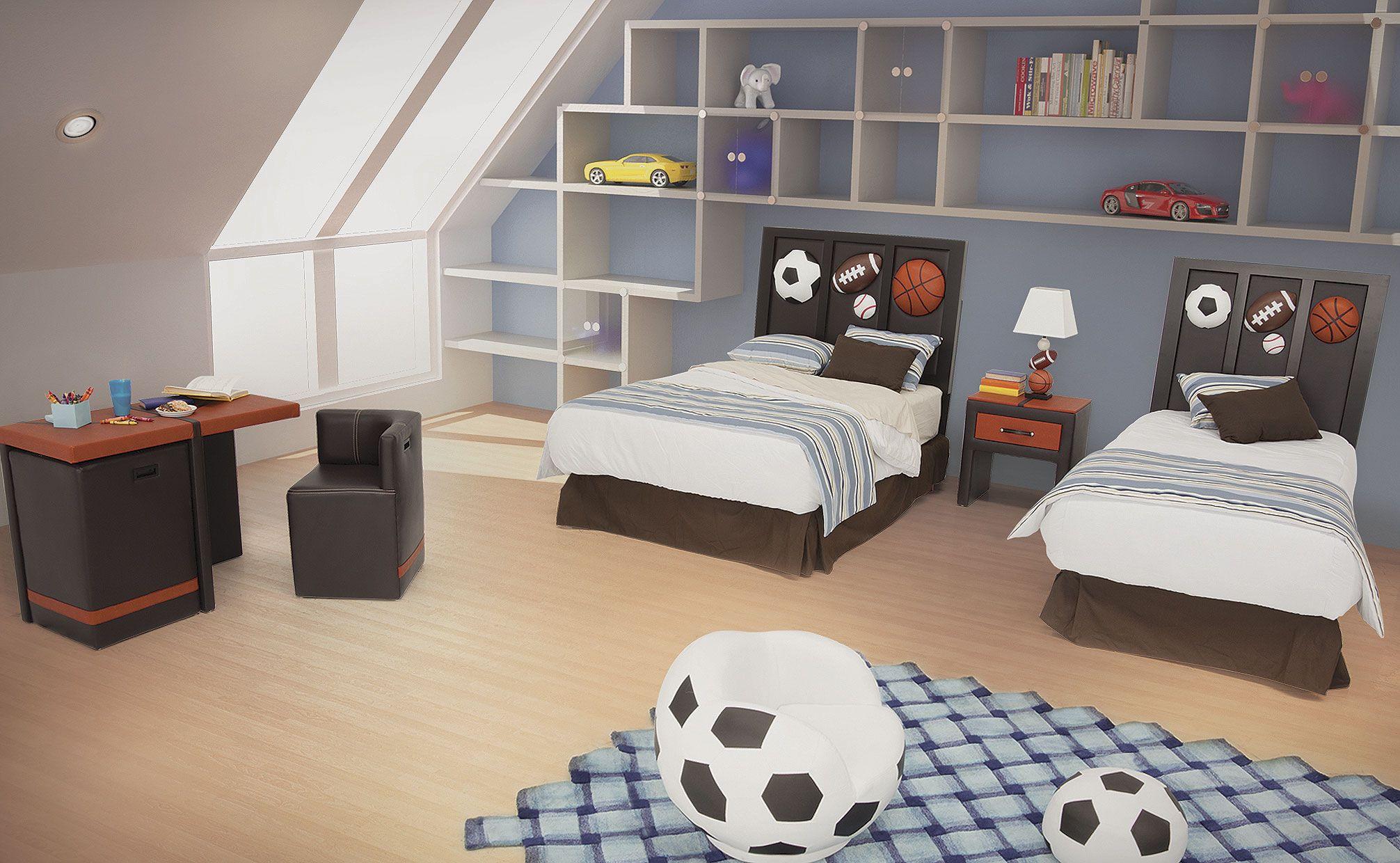 Dormitorio 3D Kids  HOME  Pinterest