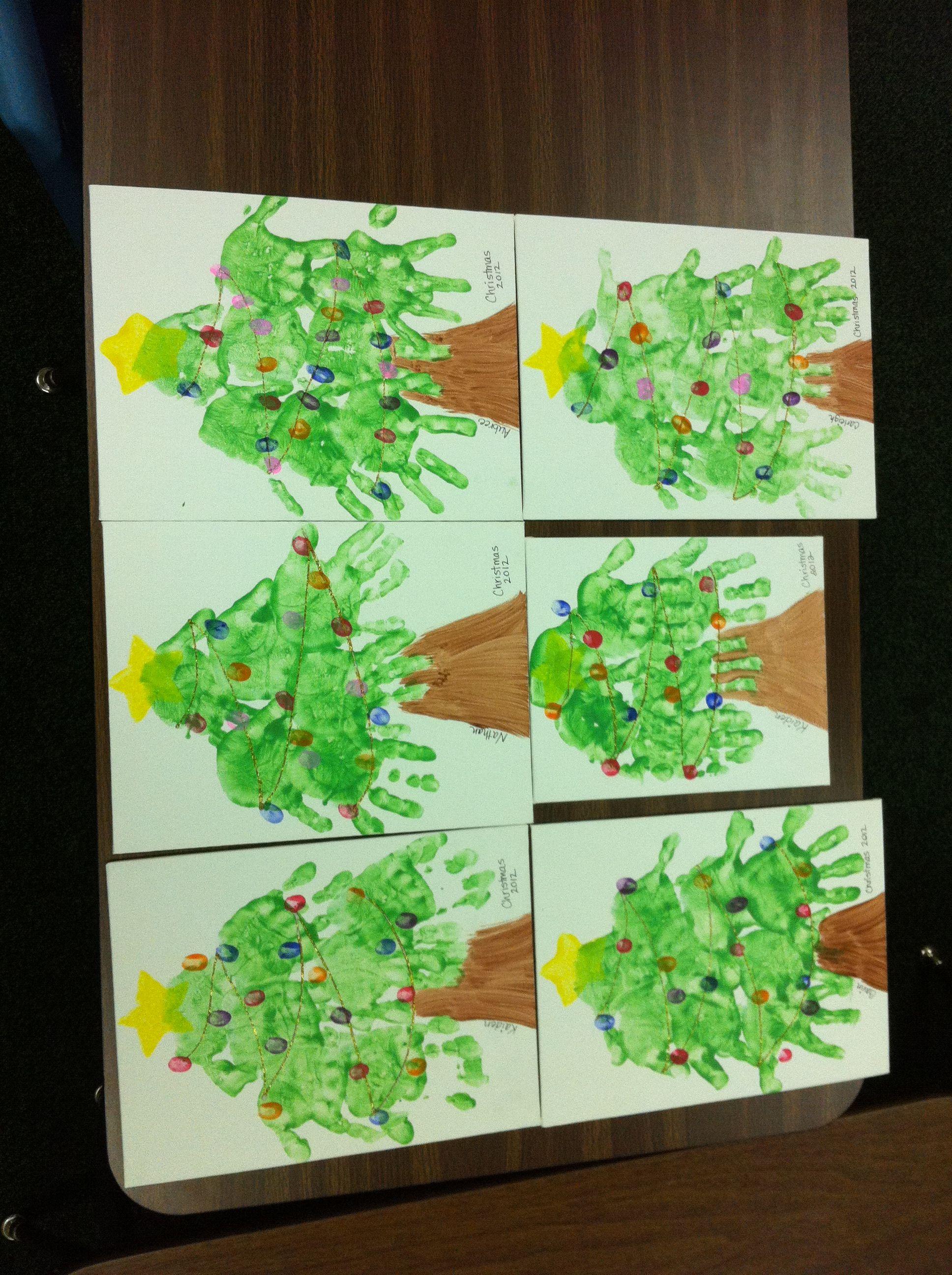 Christmas gift for parents | preschool ideas | Pinterest