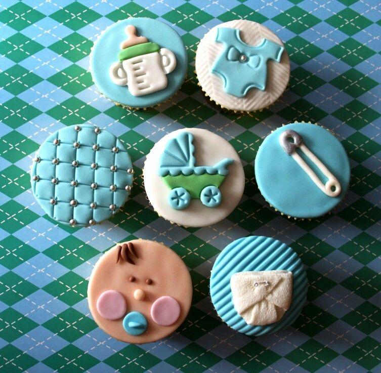 boy baby shower cupcakes cupcake ideas pinterest
