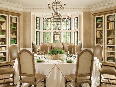 Dining room from veranda magazine dining in pinterest - Veranda dining rooms ...
