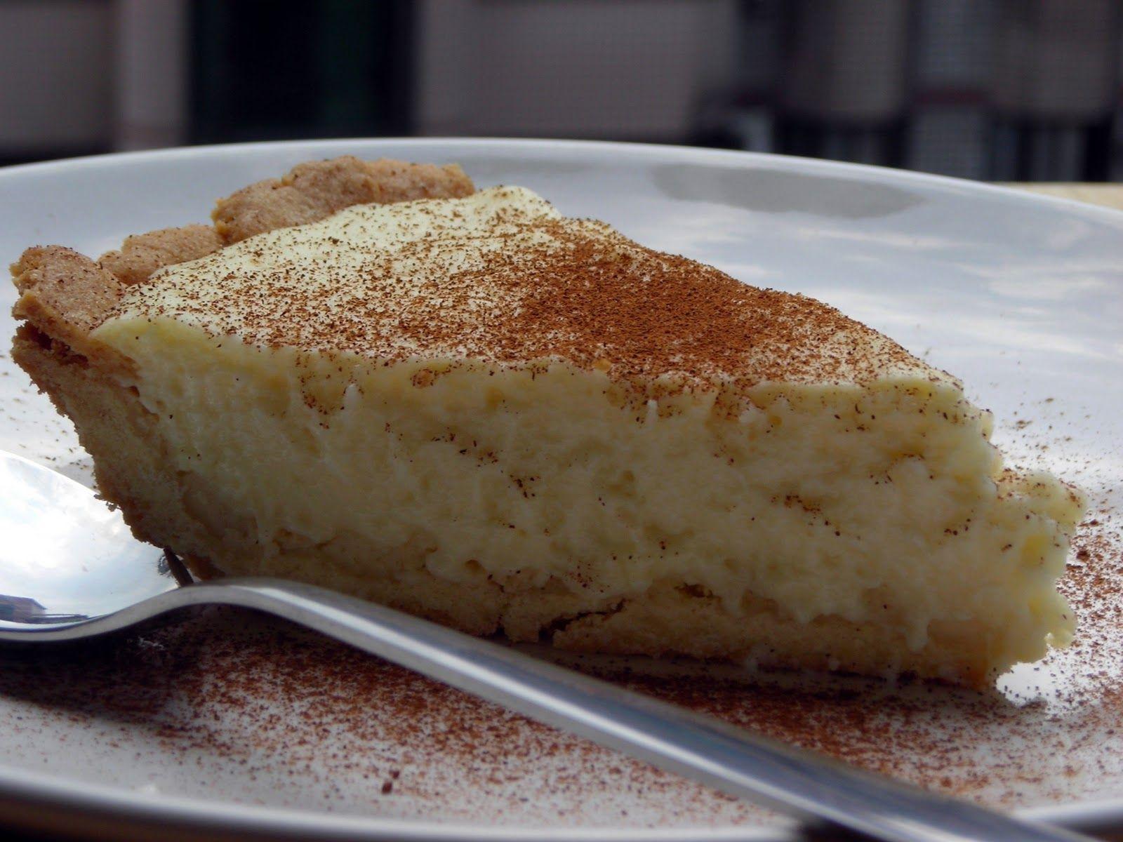 South African Melktert Milk Tart Recipe — Dishmaps