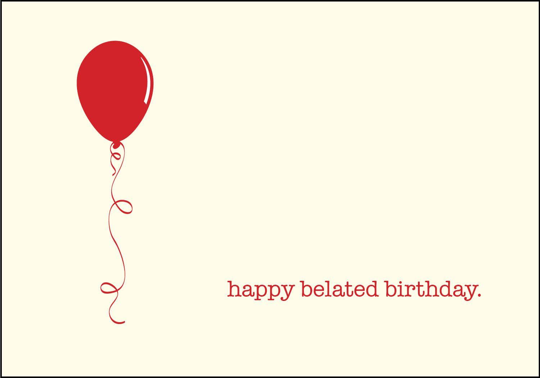 how to wish belated happy birthday