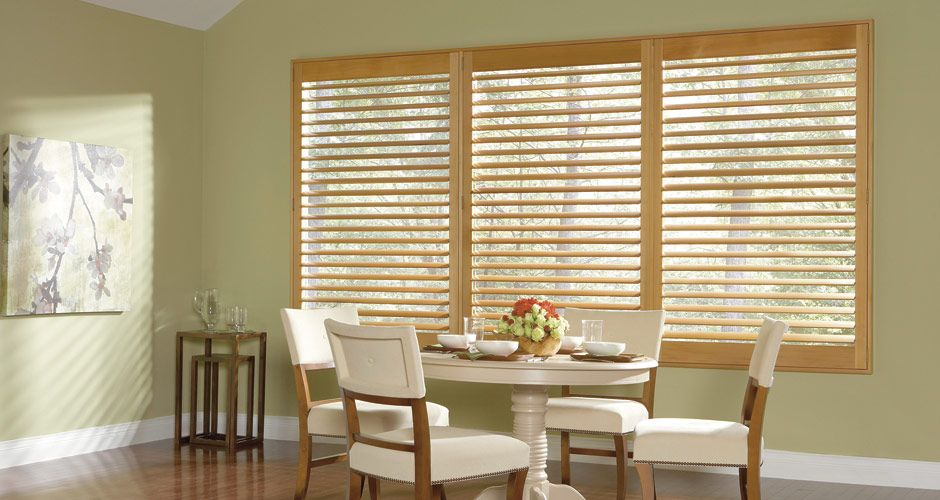 natural wood plantation shutters for the home pinterest