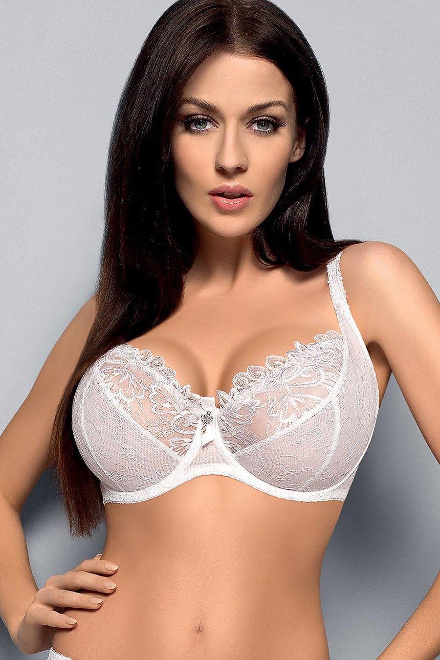Gorsenia K065 Madame White Soft Bra #underwear #lingerie ...
