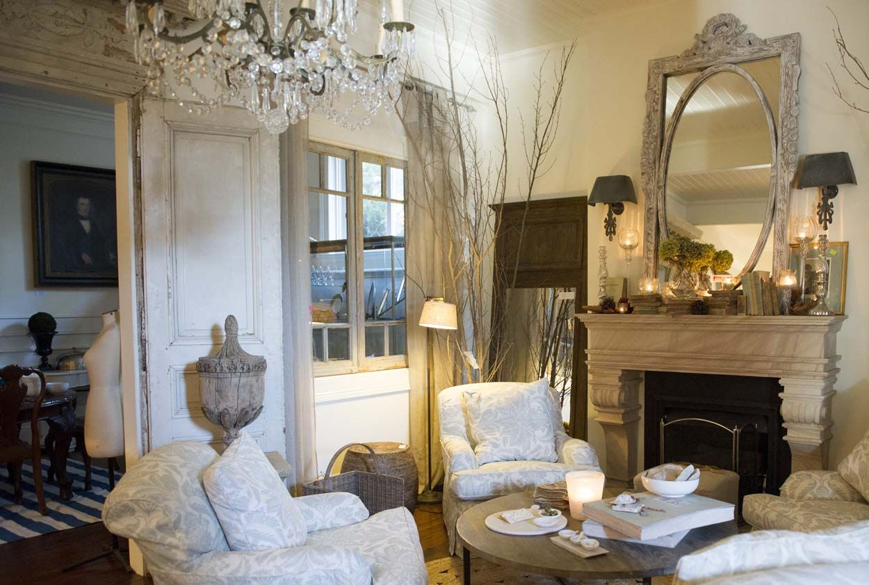 Living room at French & Country home decor