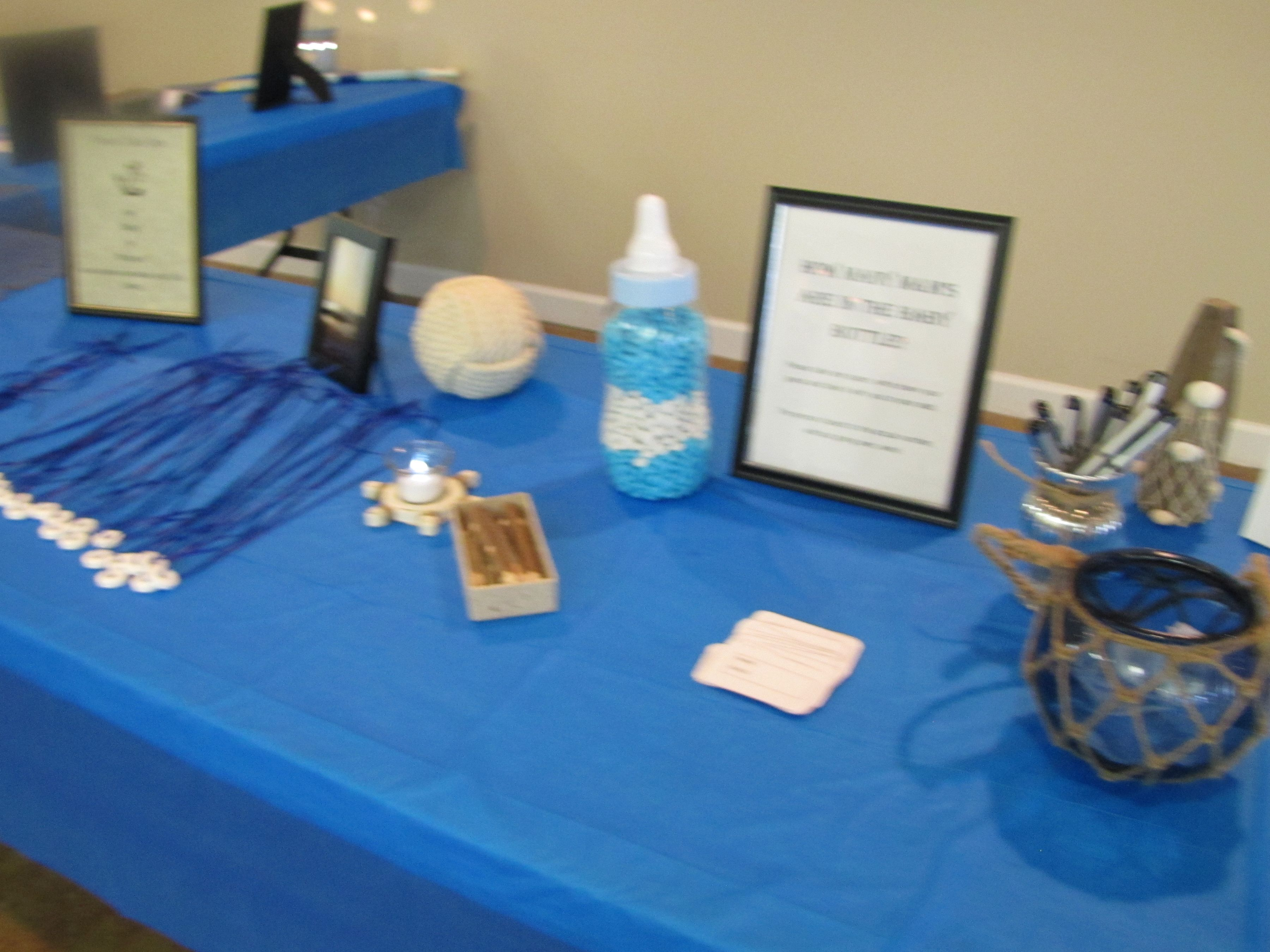 Nautical Game Table Nautical Baby Shower Pinterest