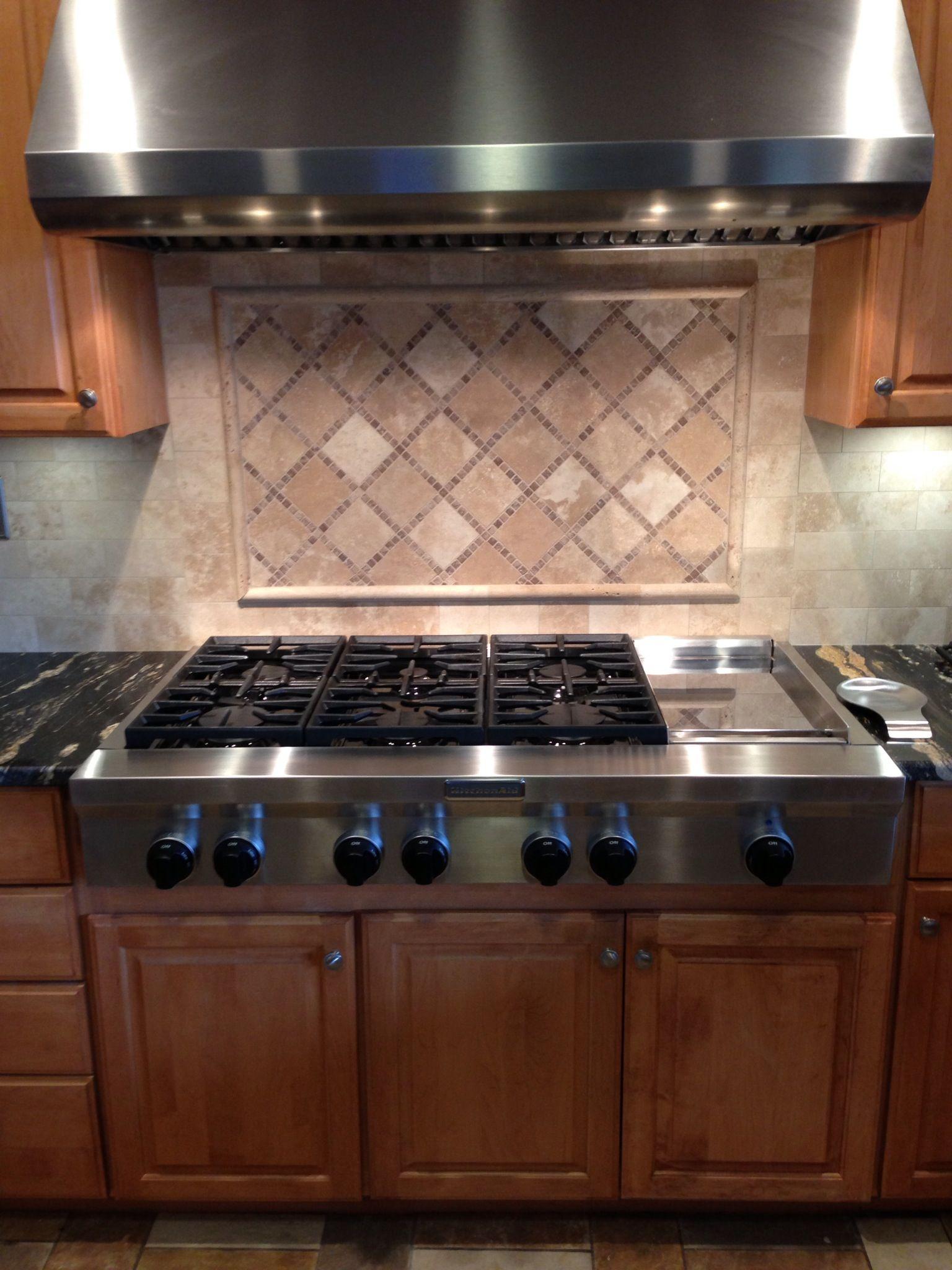 Rustic kitchen backsplash tile icontrall for - Backsplash tile rustic ...