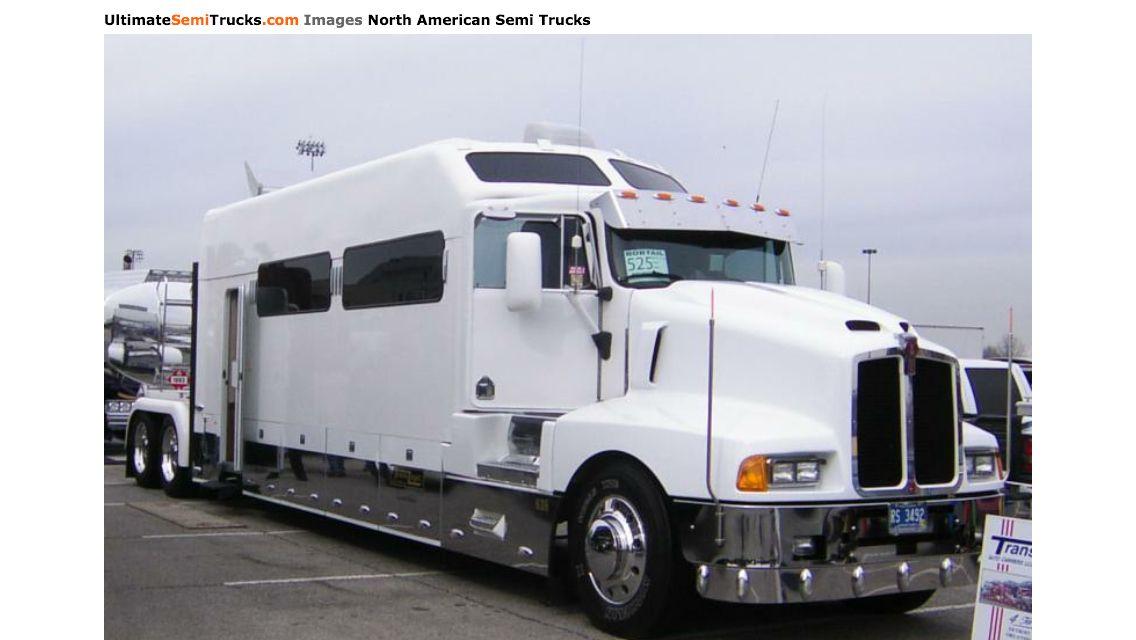 Way too big sleeper, semi truck | custom big rigs | Pinterest