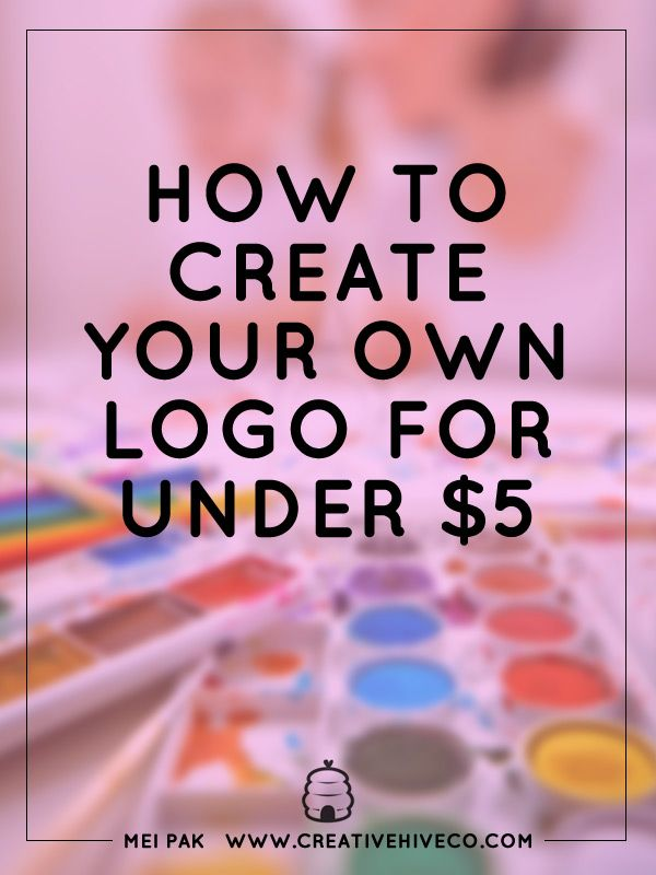 How to make my own logo design