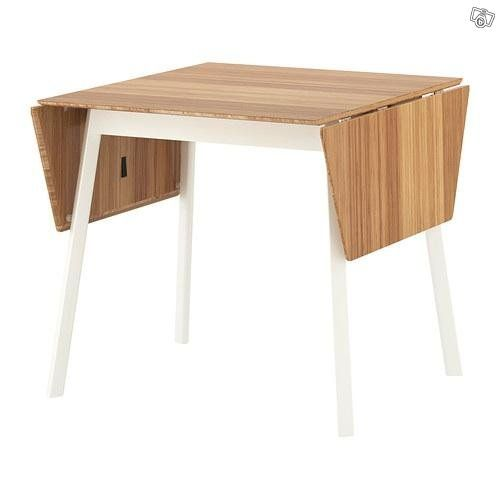 Small simple dining table for 2 people collapsible expandable sta - Small two person dining table ...