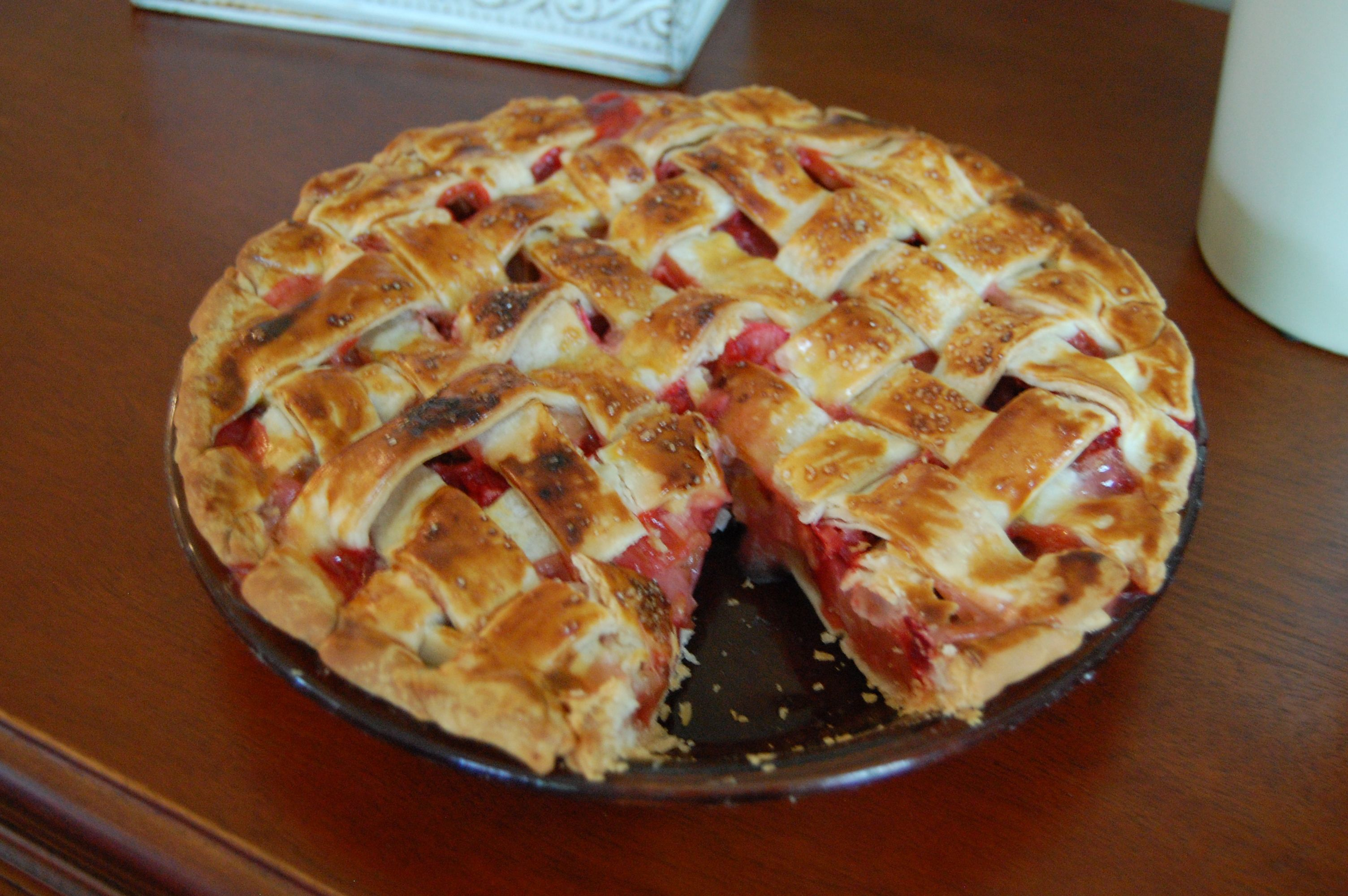 Rhubarb-Gingersnap Icebox Pie Recipes — Dishmaps