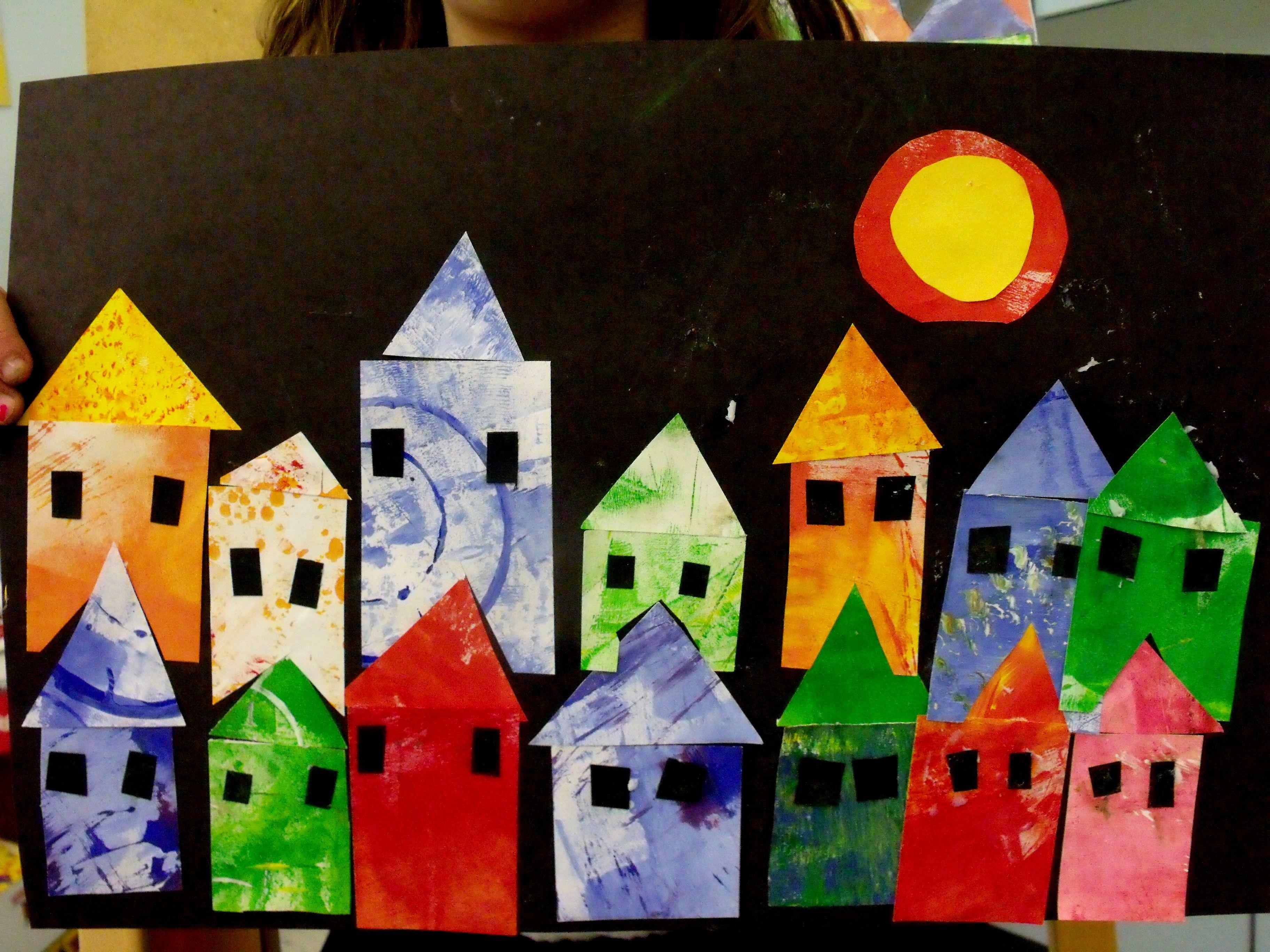 Paul klee houses fun artsy fartsy stuff pinterest for Sun castle
