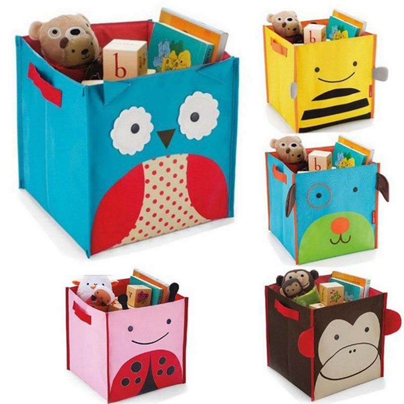 Корзина для игрушек своими руками из картонной коробки 83