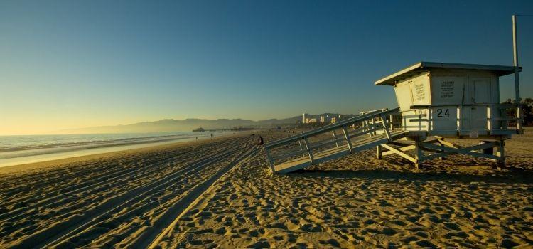Playa Venice Beach en Los Ángeles