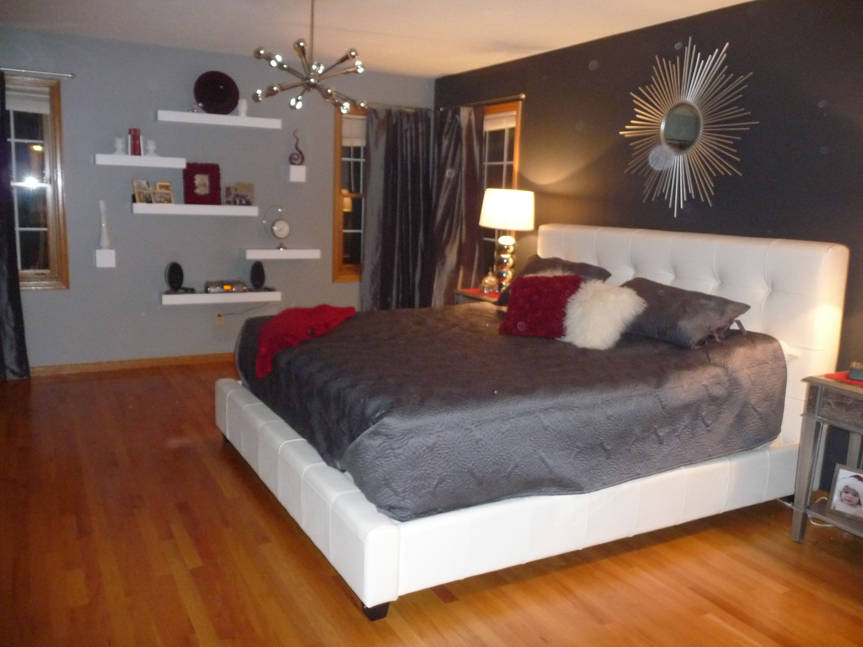 another view of our master bedroom decorating ideas