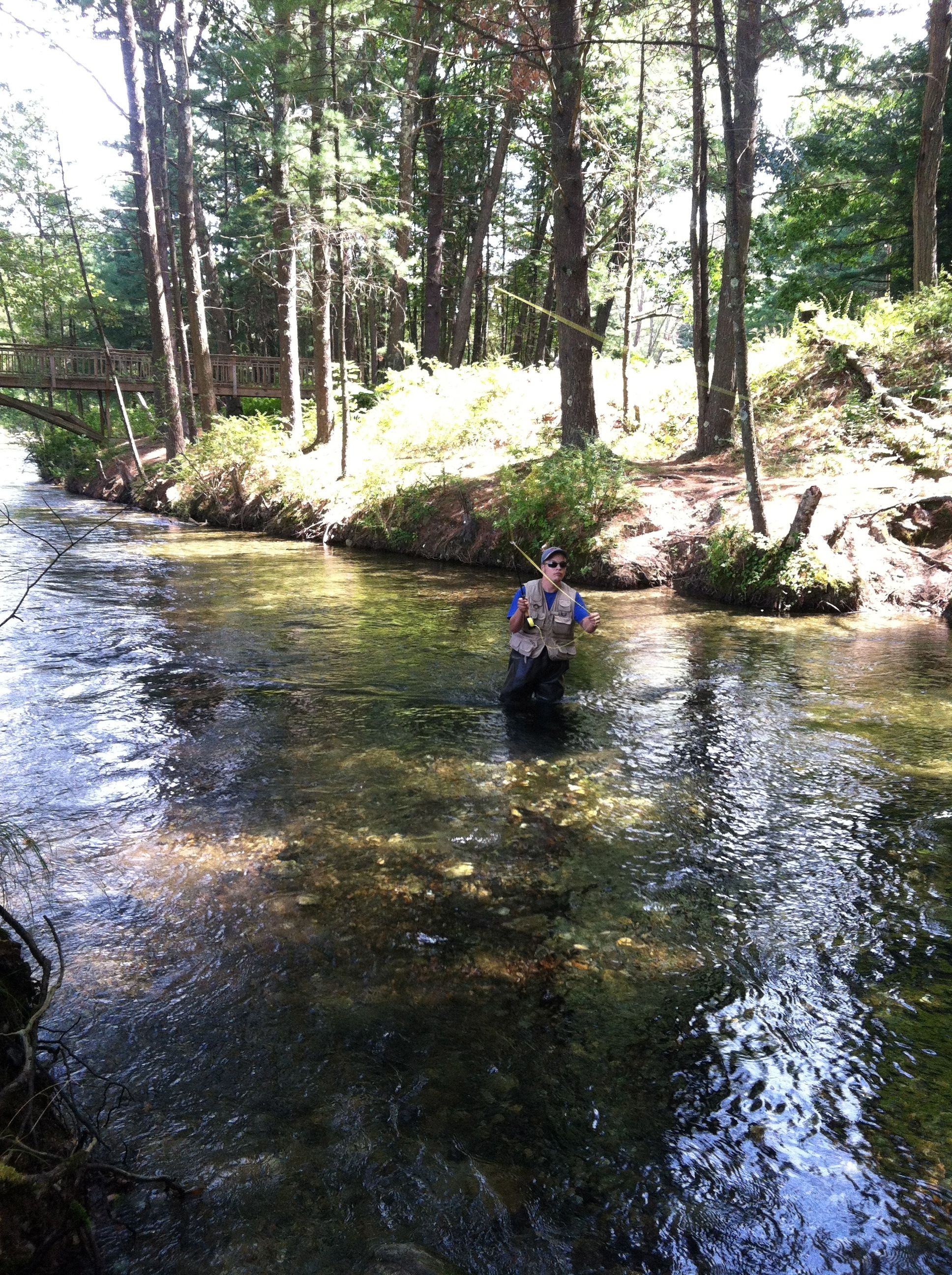 Swift river ma fly fishing a good line is one with a for Swift river fly fishing