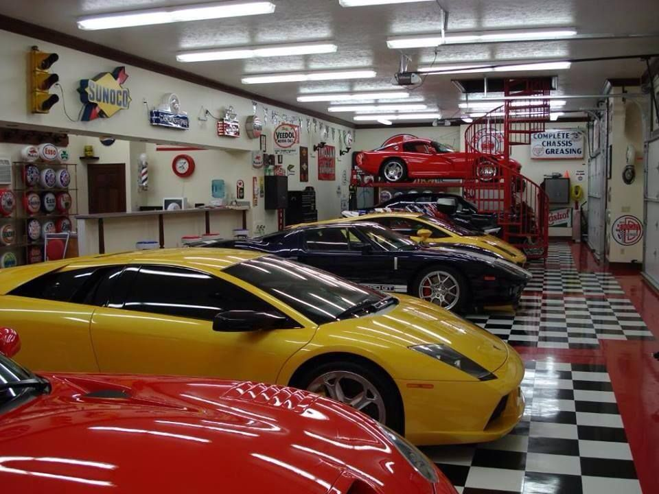 Awesome Man Cave Garage : Pin by sam jr on awesome garages pinterest