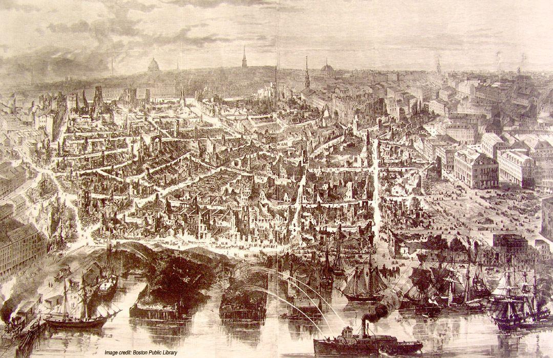 1872 г. Бостон
