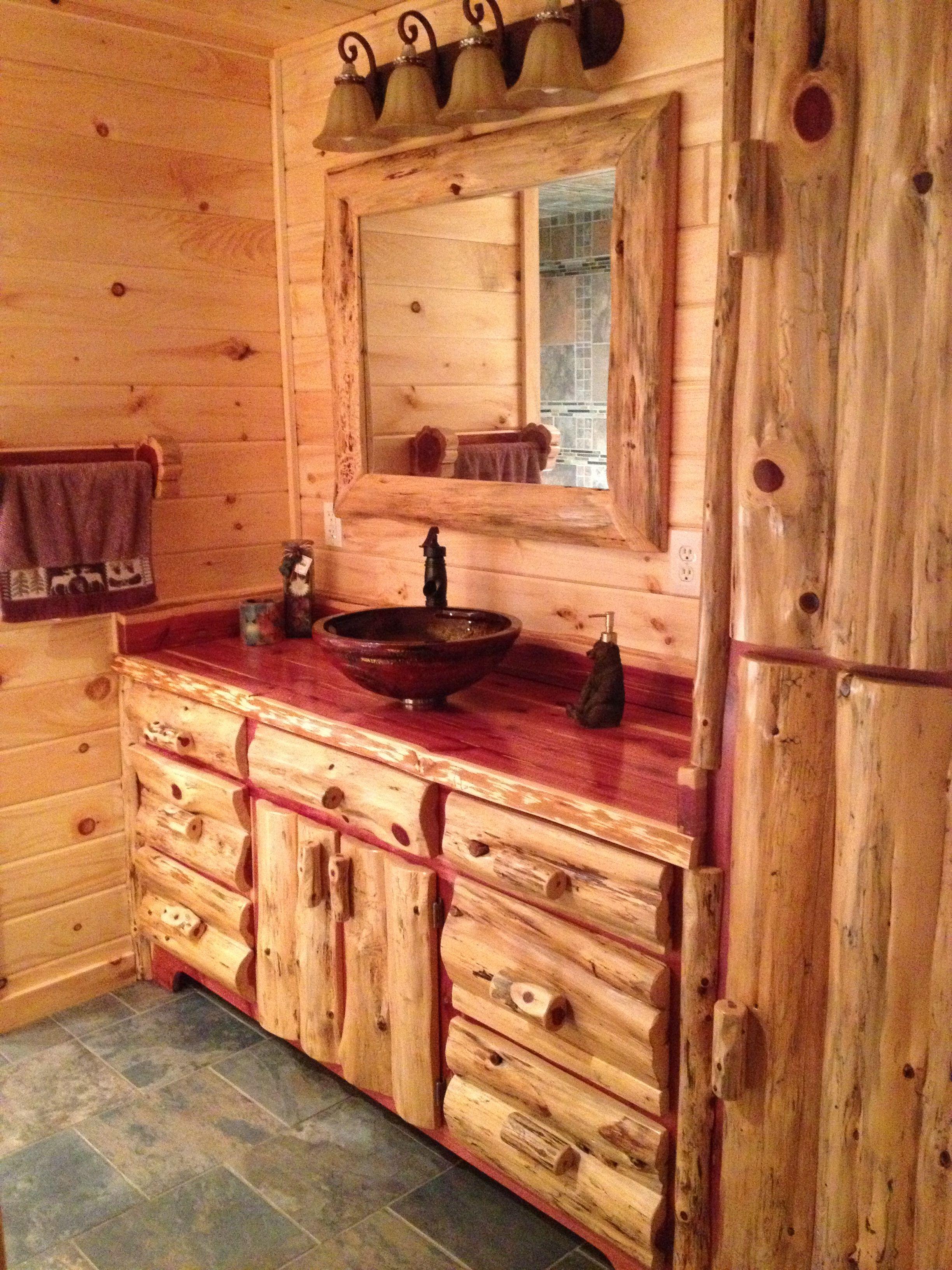 Amish made bathroom vanities