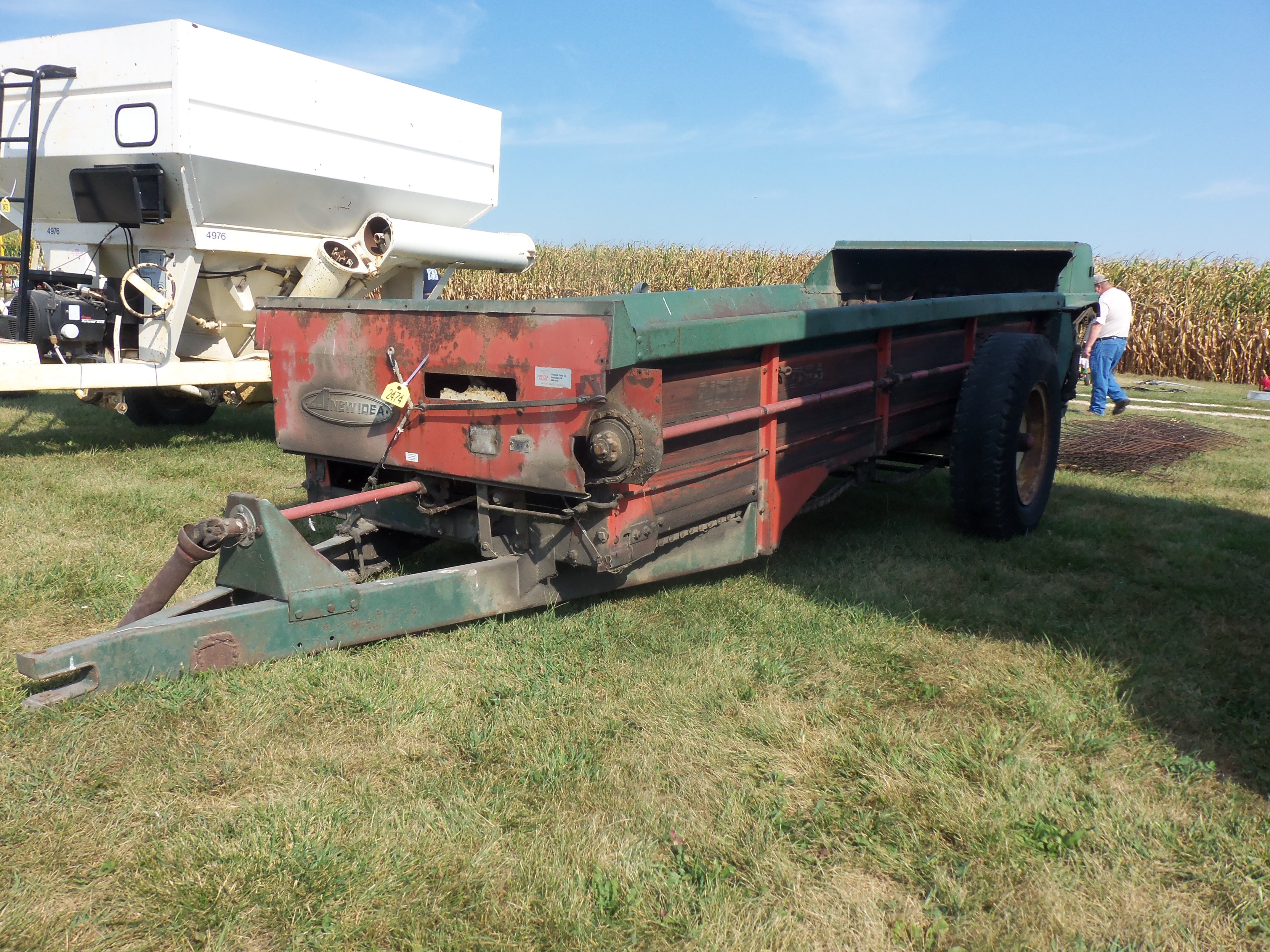 New Idea Spreader Parts : New idea manure spreaders music search engine at