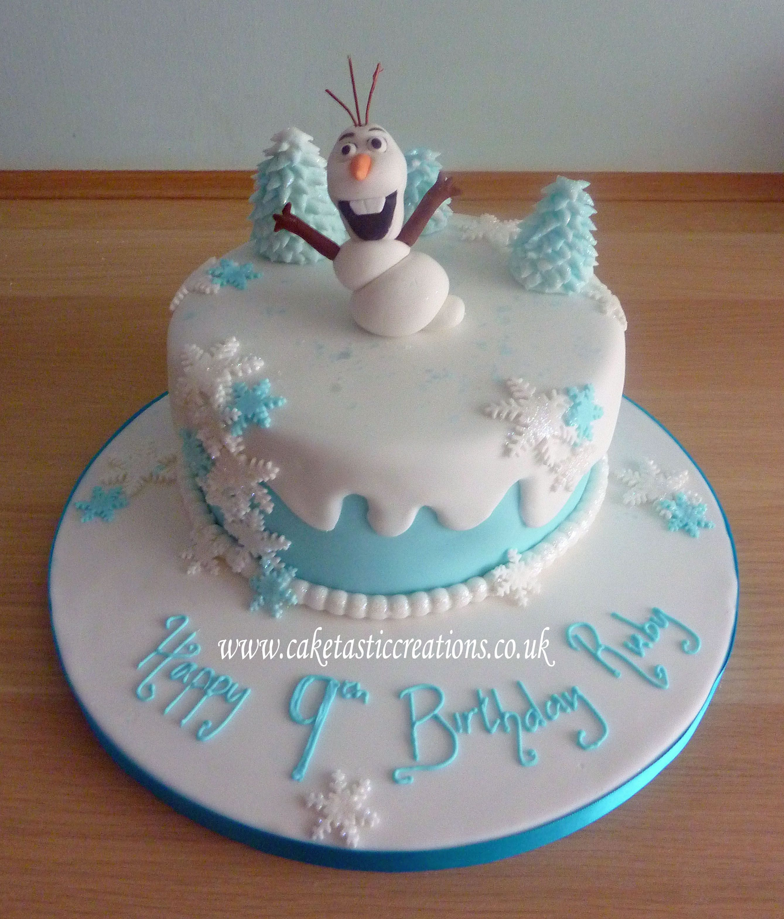 Frozen Themed Cakes