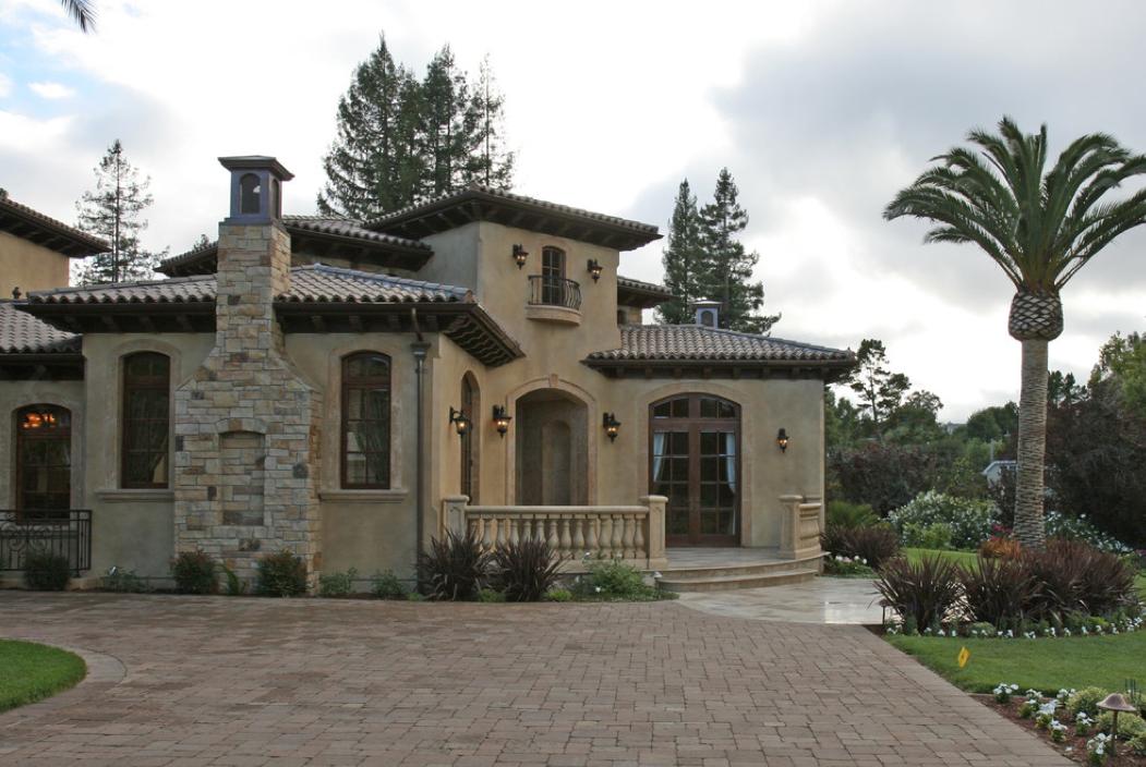 Mediterranean tuscan style house home mediterranean for Mediterranean tuscan style homes