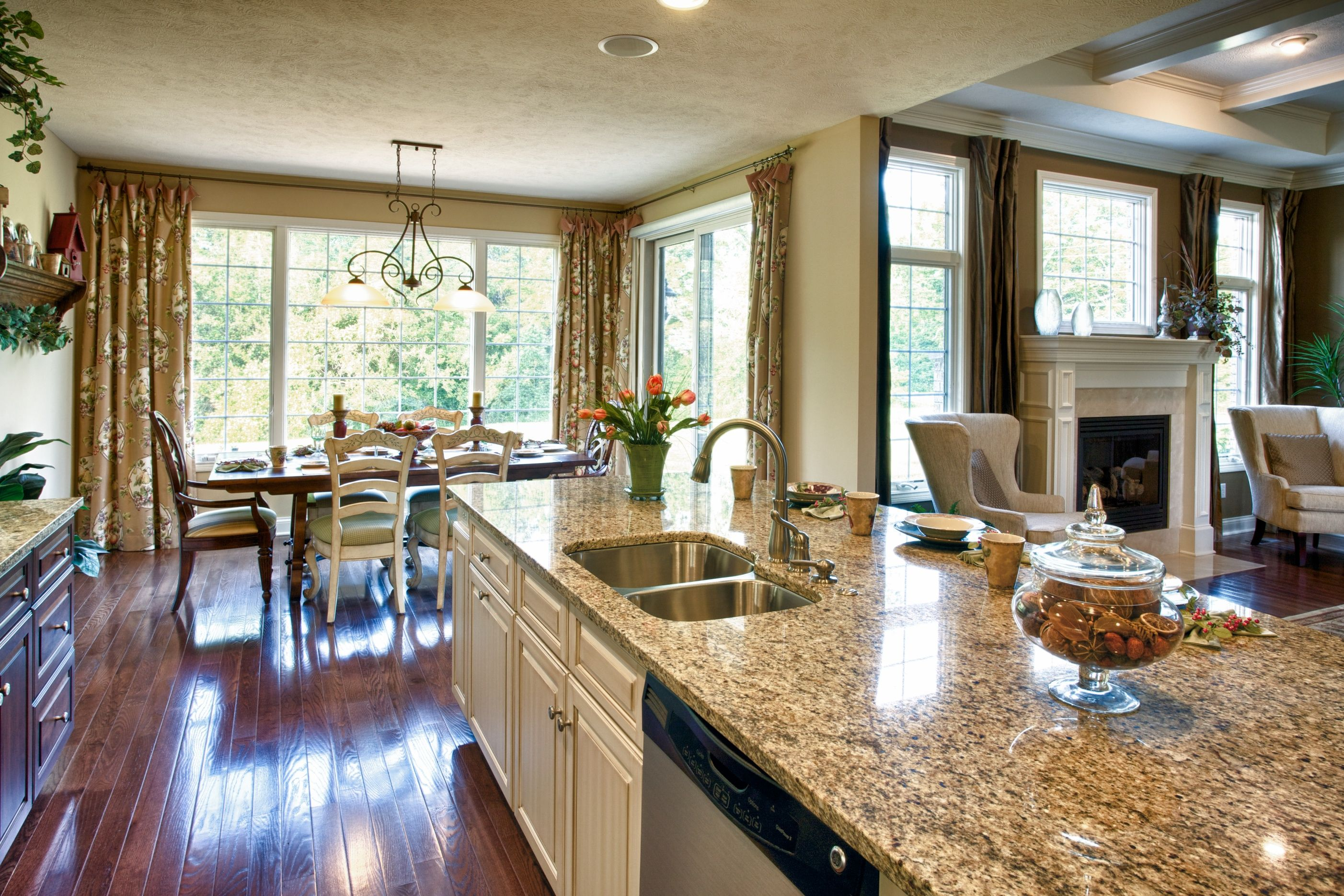 Eat In Kitchen Open To Great Room Next House Pinterest