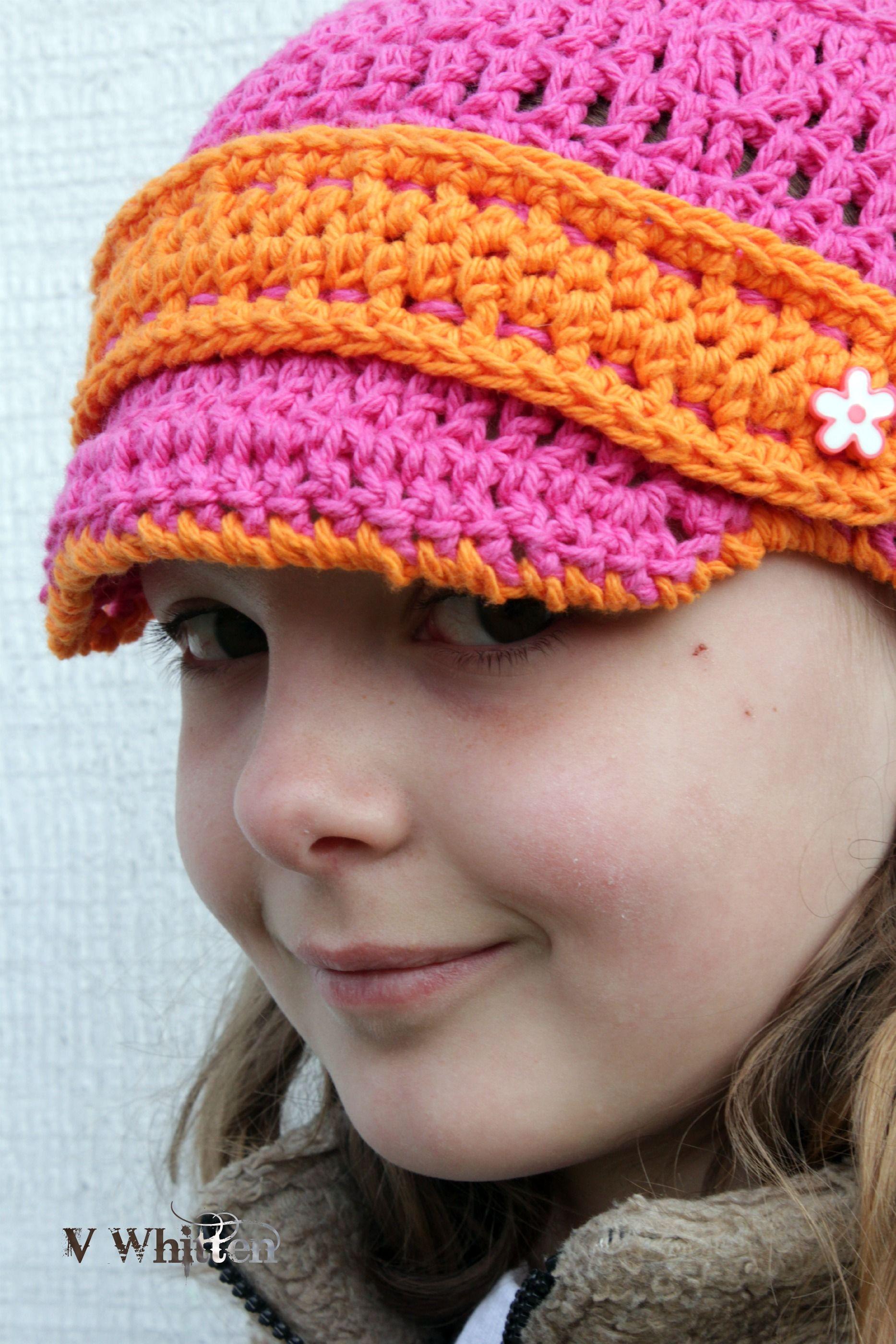 Crochet Newsboy Hat : Crochet Newsboy hat Crochet hats Pinterest