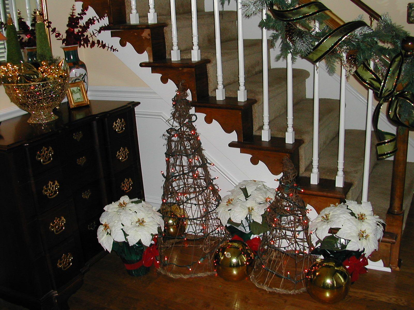 Foyer Christmas Decorating : Christmas foyer decor decorating ideas pinterest