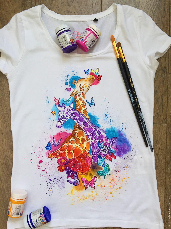 Как сделать рисунок на футболке без специальных красок