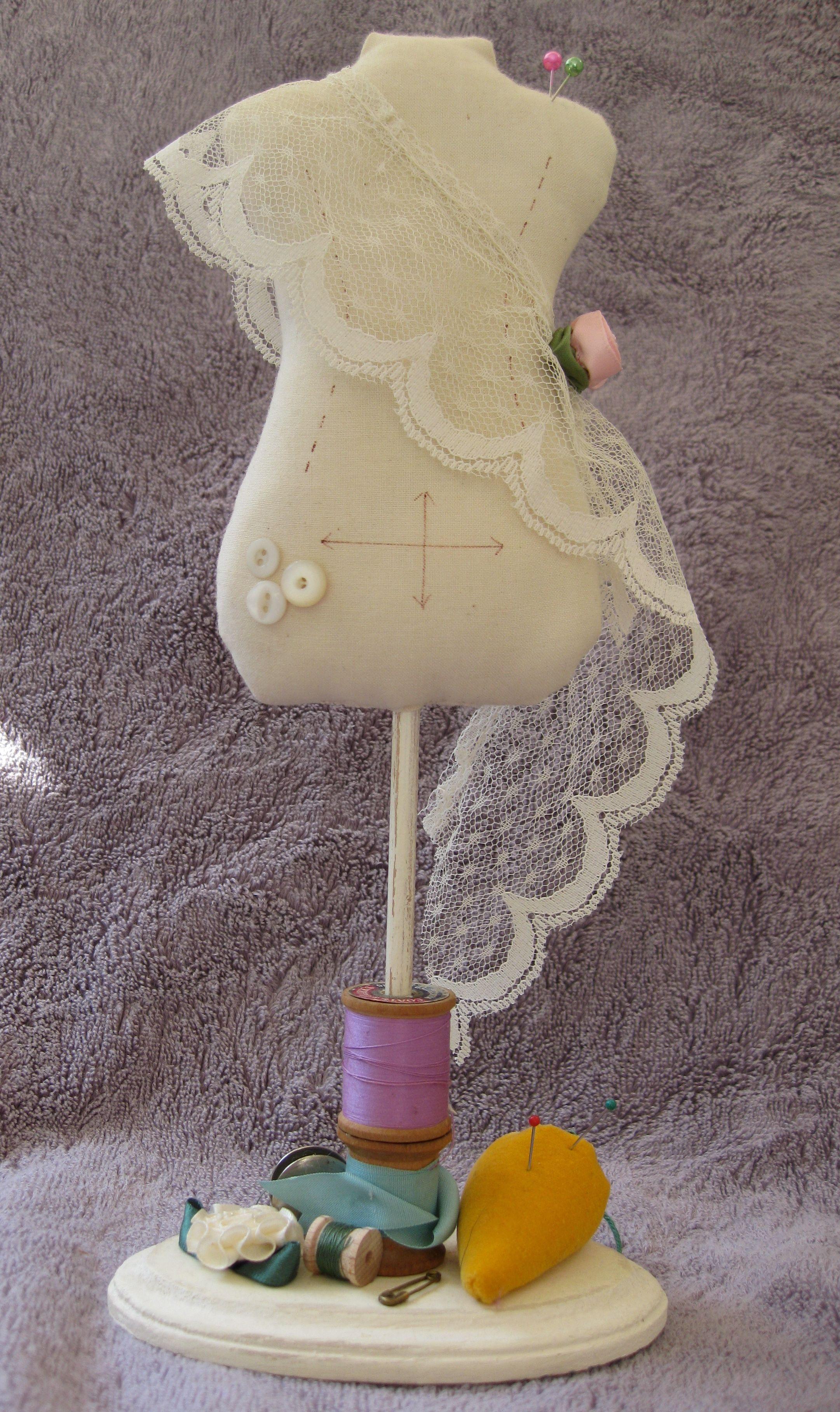 Dress form pincushion sewing dress forms pinterest