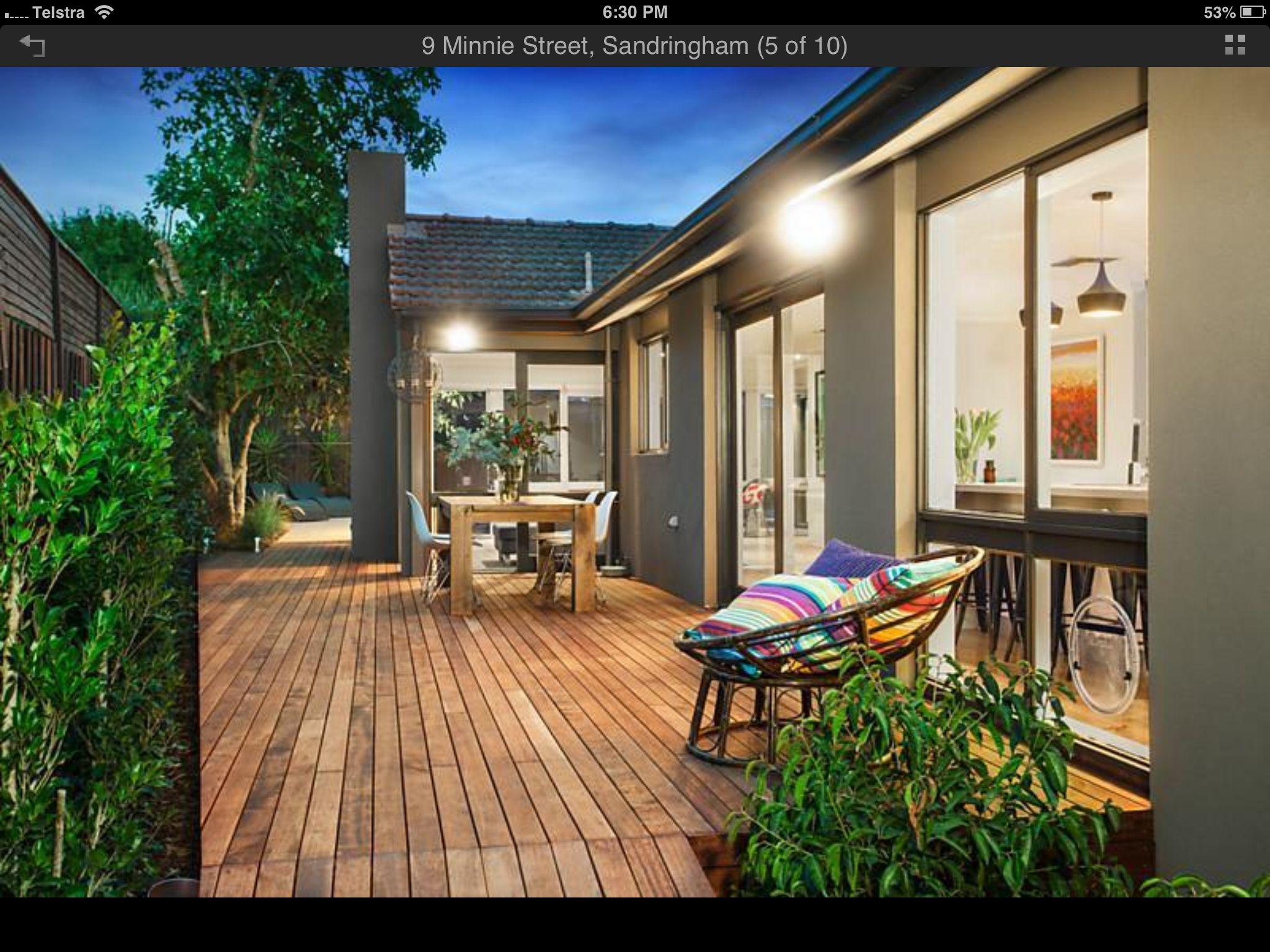 North deck landscaping ideas pinterest for Deck ideas pinterest