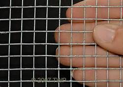 Shop Blue Hawk (Actual: 25-ft x 3-ft) Rolled Wire Galvanized Steel ...