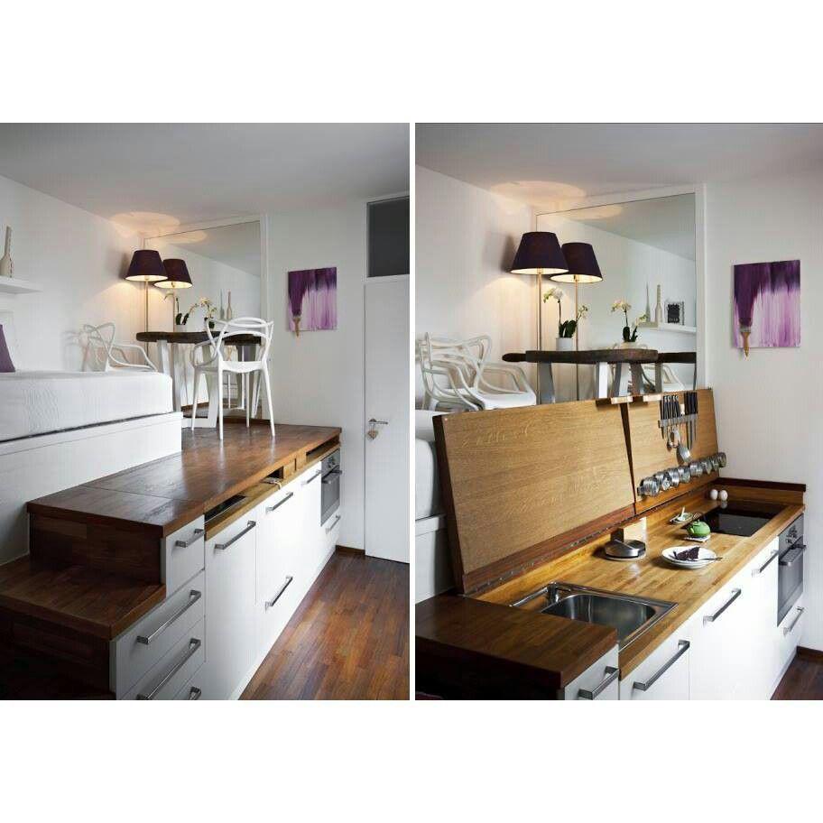 Fold Down Kitchen Studio Pinterest
