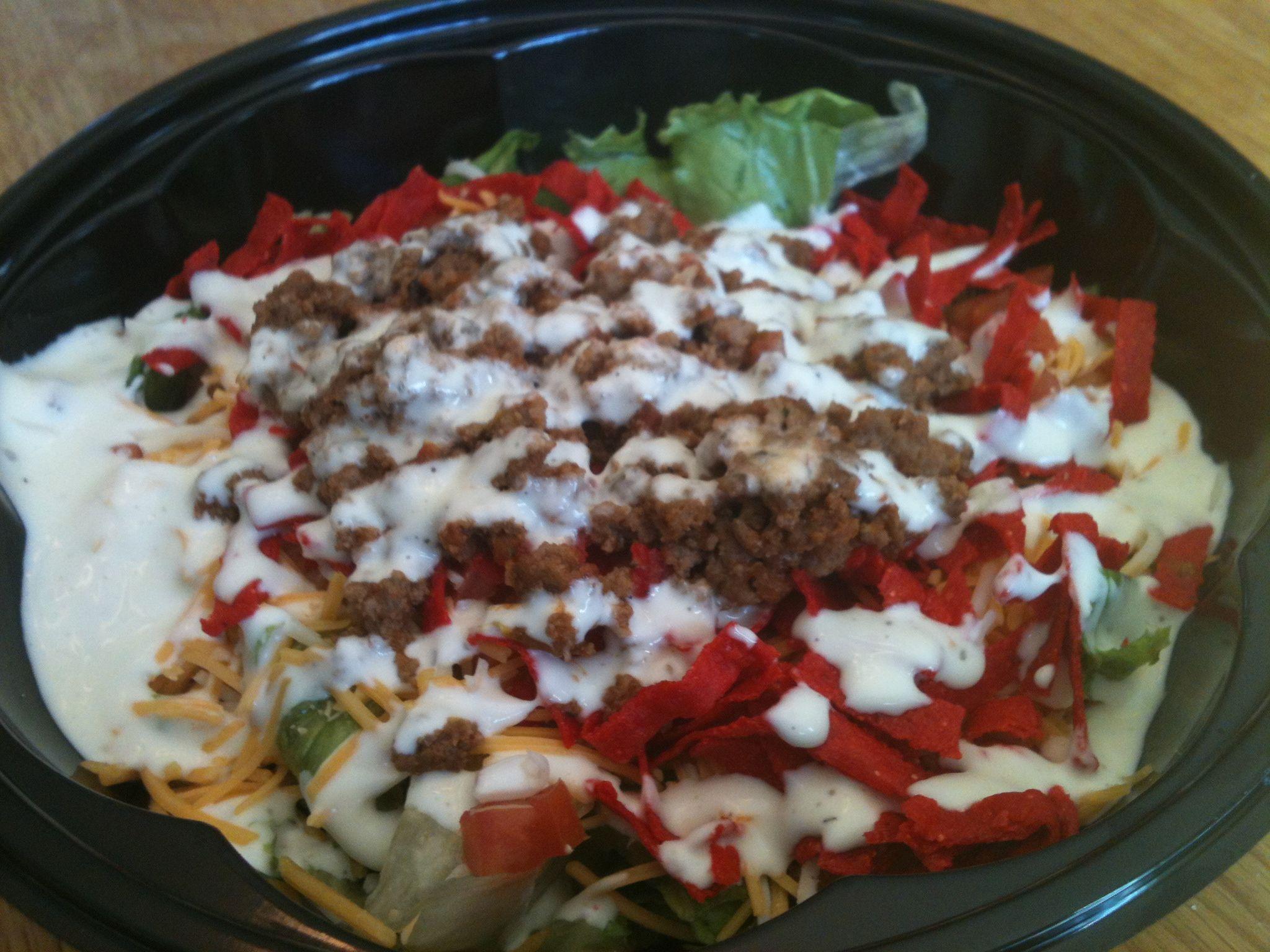 taco salad quinoa taco salad kalyn s taco salad layered raw taco salad ...
