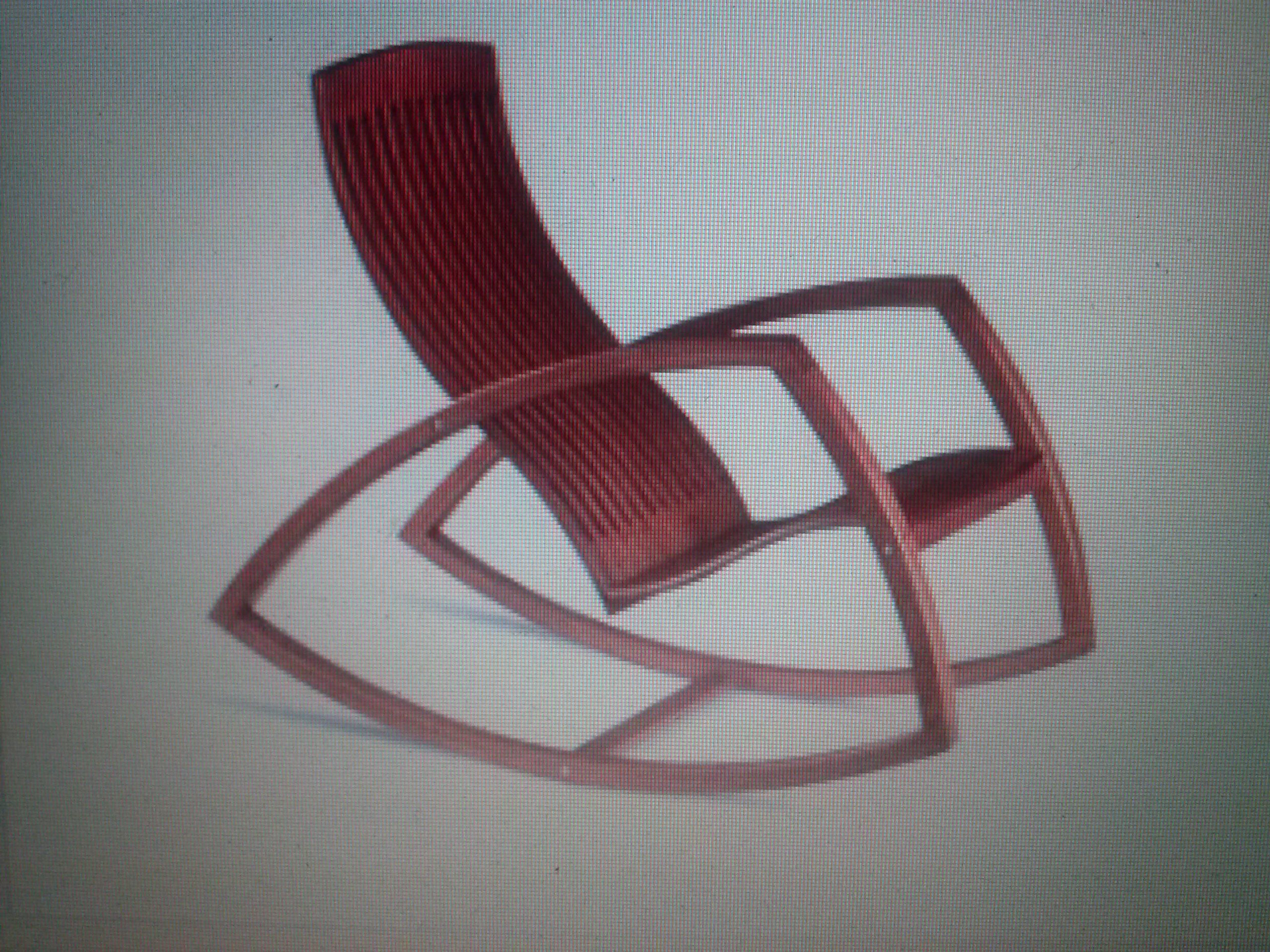 Cadeira de balanço Gaivota Reno Bonzon Móveis de design  #46252B 2560x1920