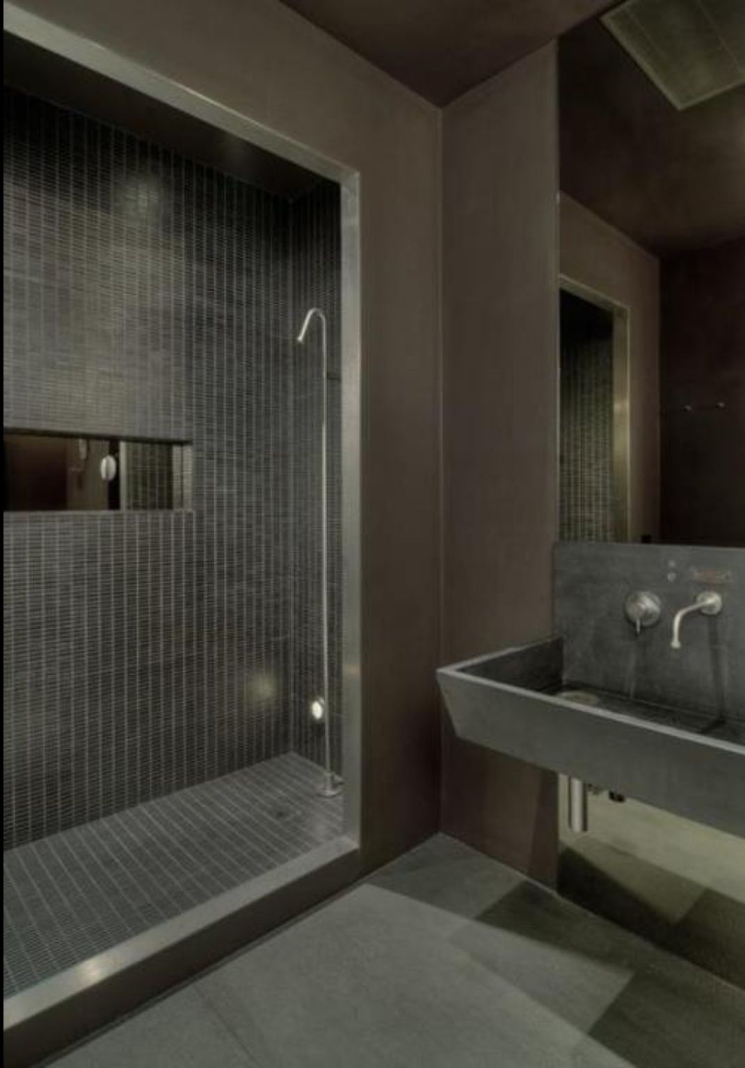 Matt Grey Modern Masculine Bathroom Bathroom Shower Pinterest