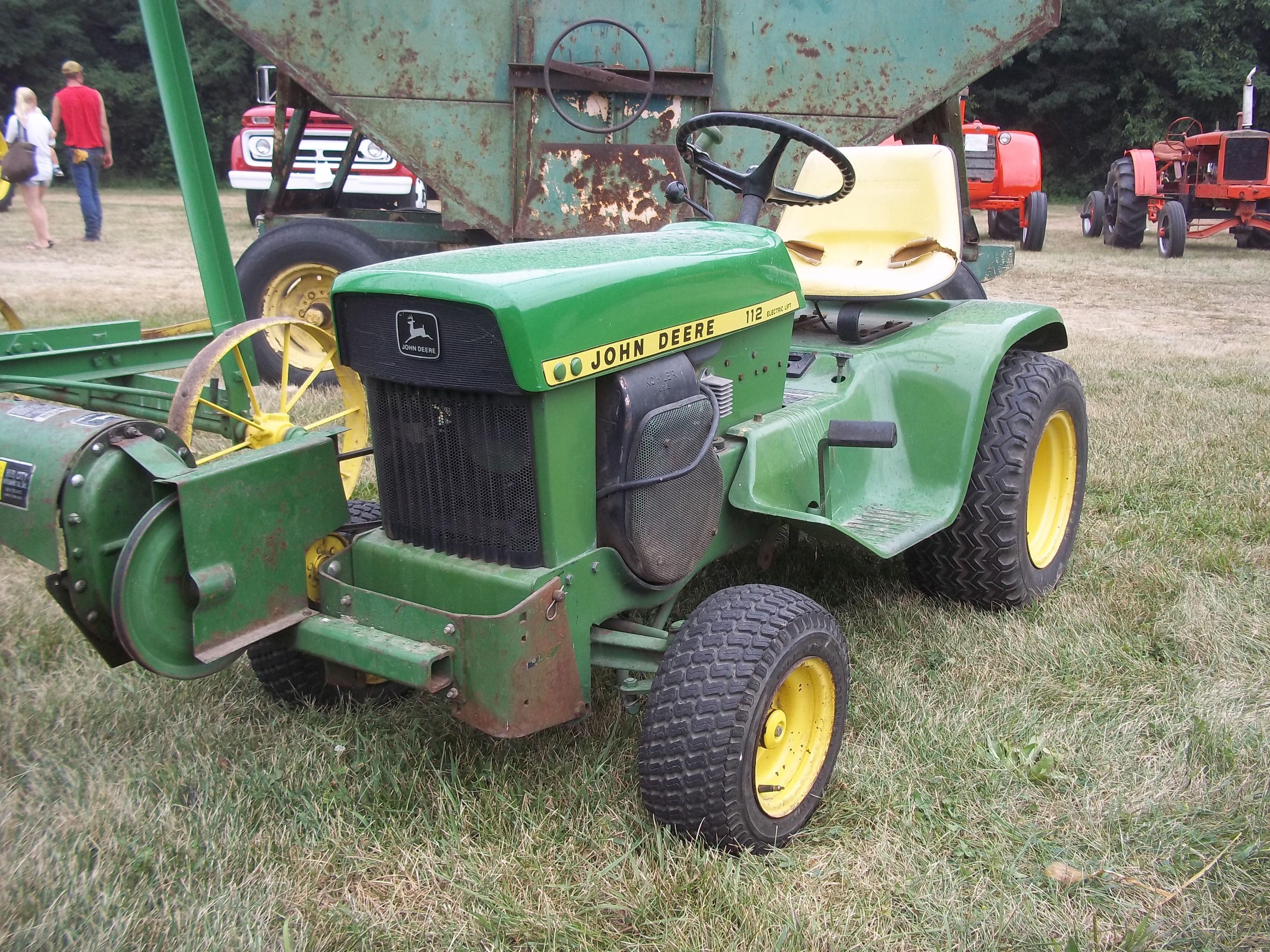 John Deere Lawn Tractor Equipment : Lawn garden tractor john deere equipment pinterest