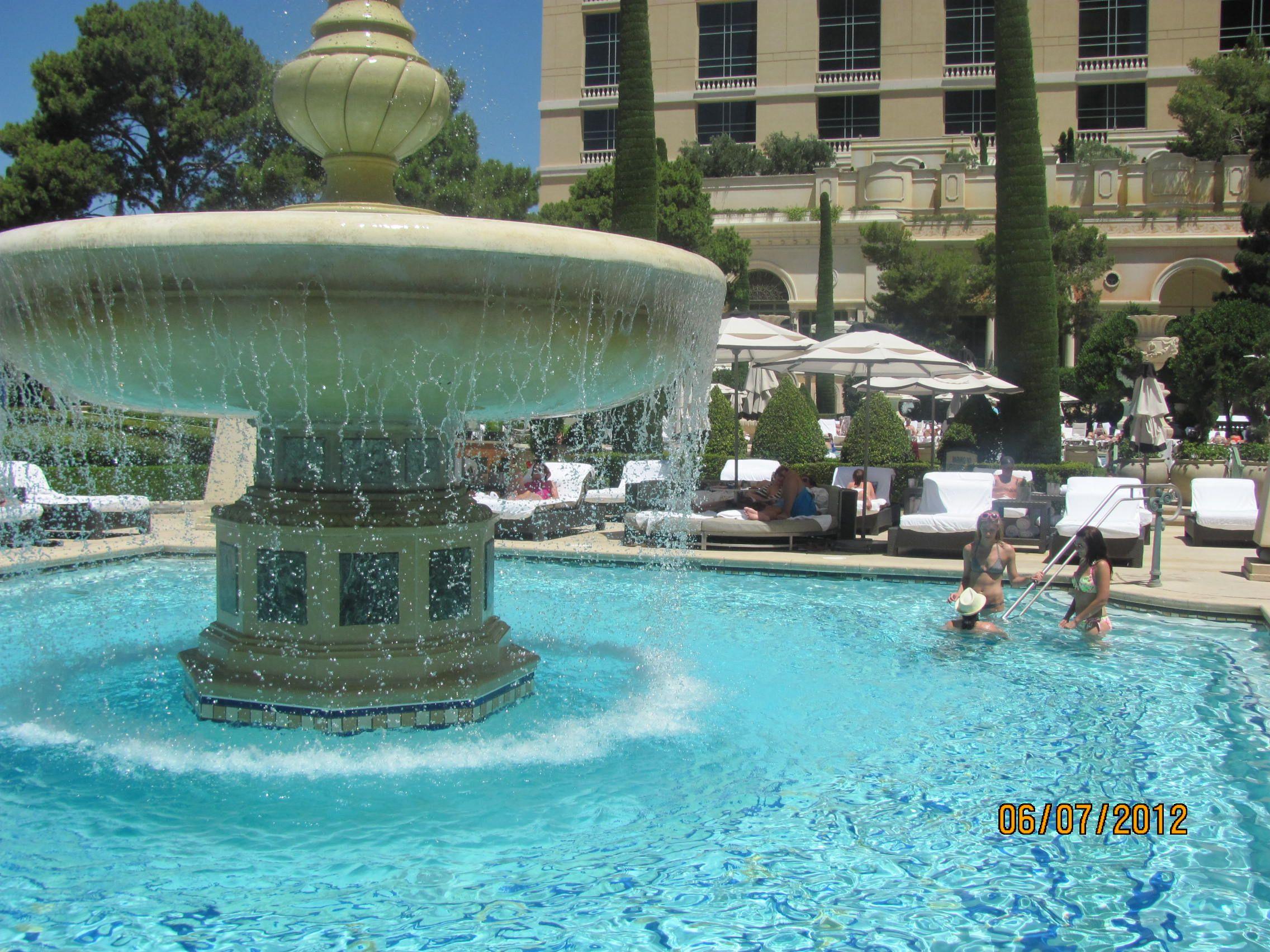 Cypress Pool Bellagio Hotel In Vegas Travel Pinterest