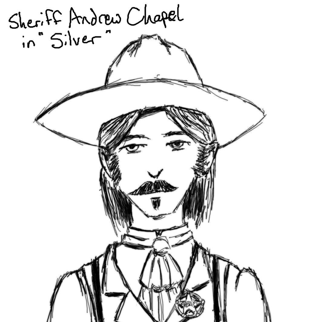 Sheriff Andrew Chapel in Silver