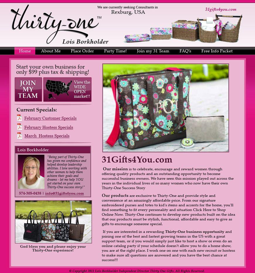 Thirty One Gifts   Thirtyone   Pinterest