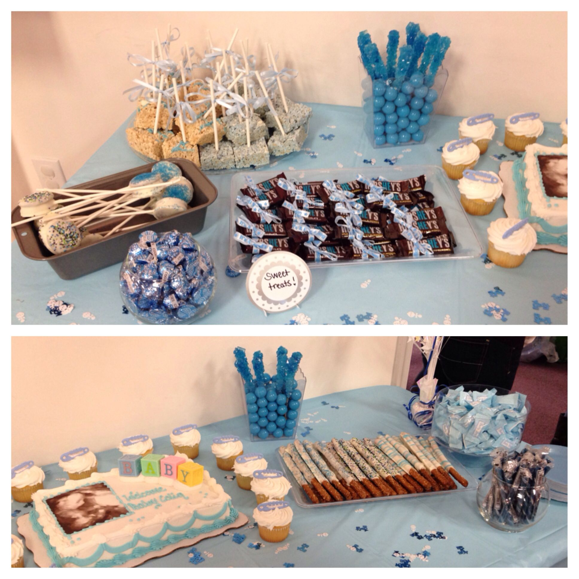 baby boy shower candy table party gift ideas pinterest