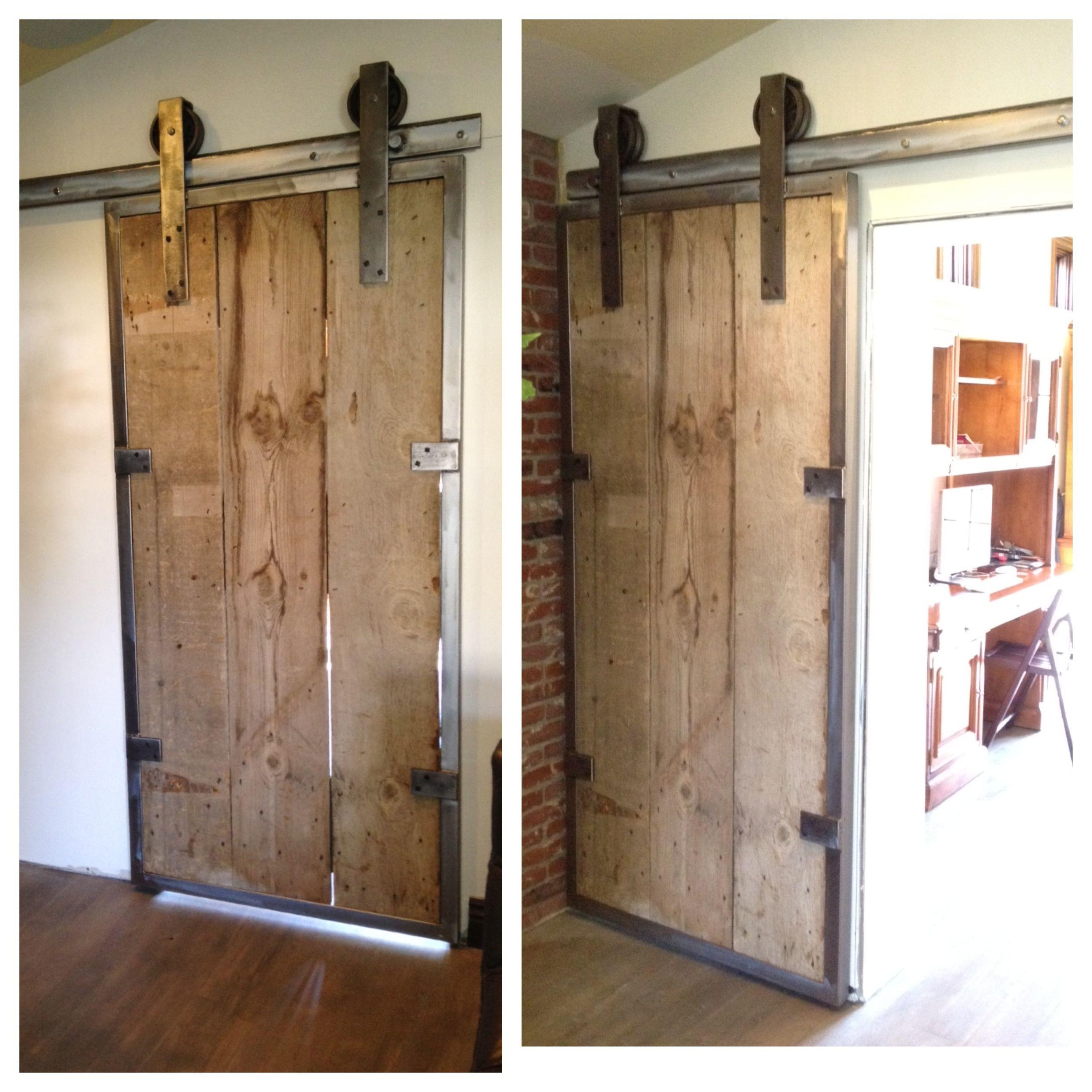 custom rolling barn door handcrafted pinterest