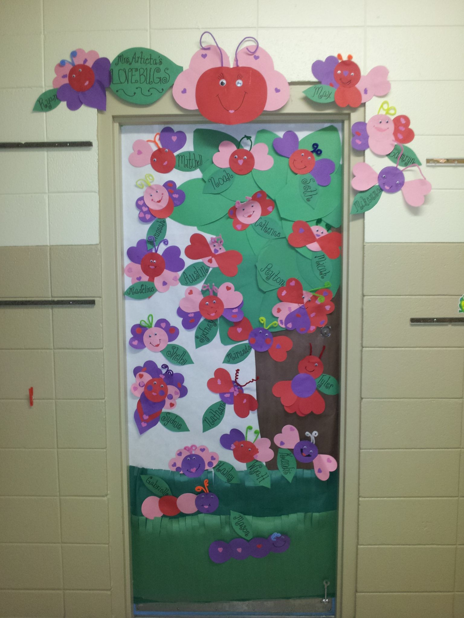 Bug door decorations lady bug classroom door ideas tutor for B day decoration photos