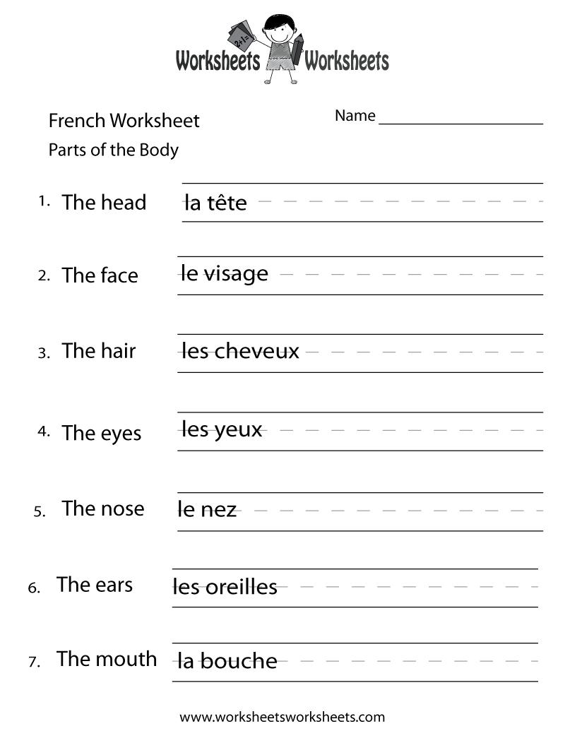 Polish  free worksheets for Polish verbs and vocabulary